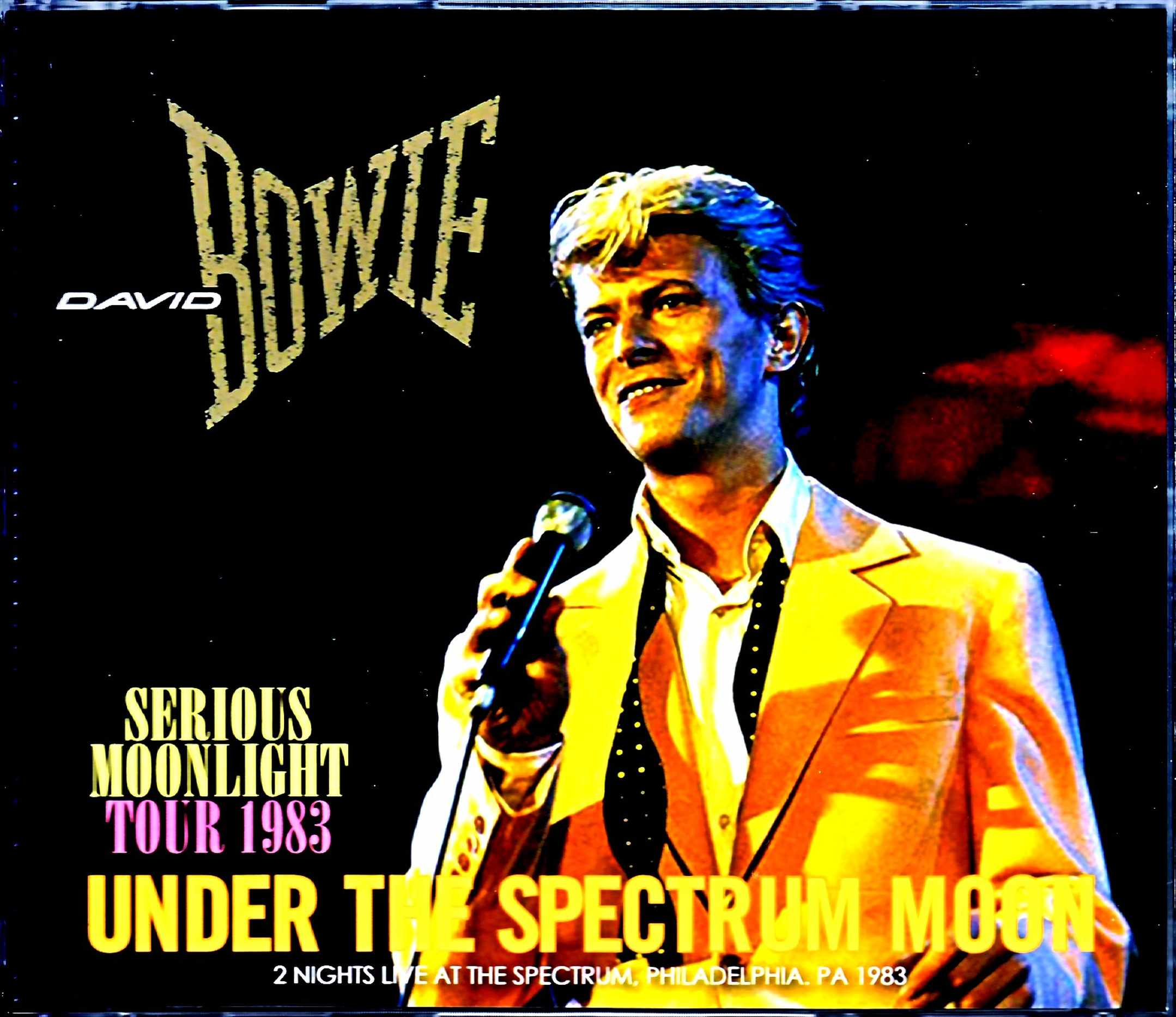 David Bowie デビッド・ボウイ/PA,USA 1983 2Days Complete