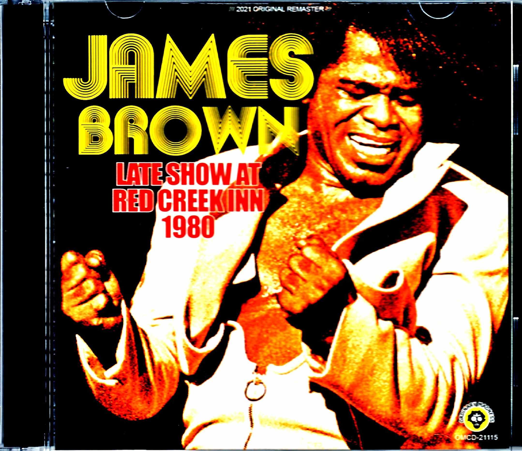 James Brown ジェームス・ブラウン/NY,USA 1980