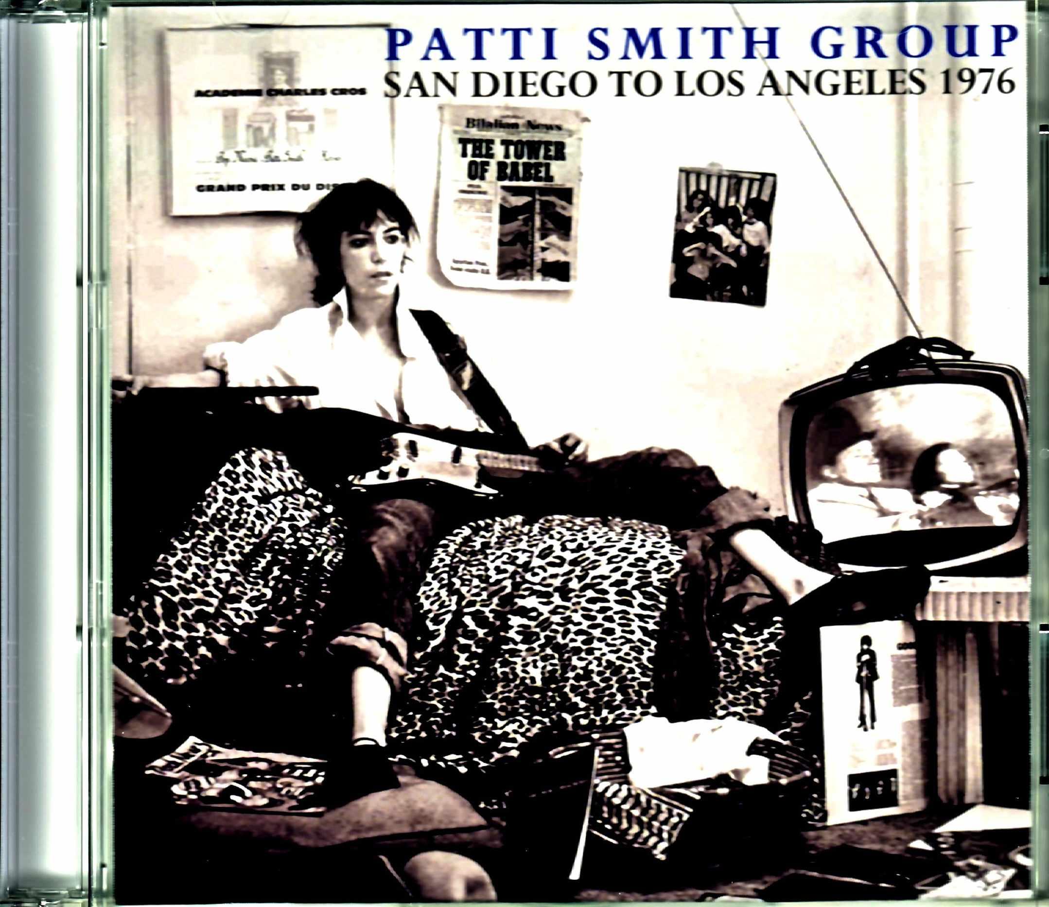 Patti Smith Group パティ・スミス/CA,USA 1976 2Days