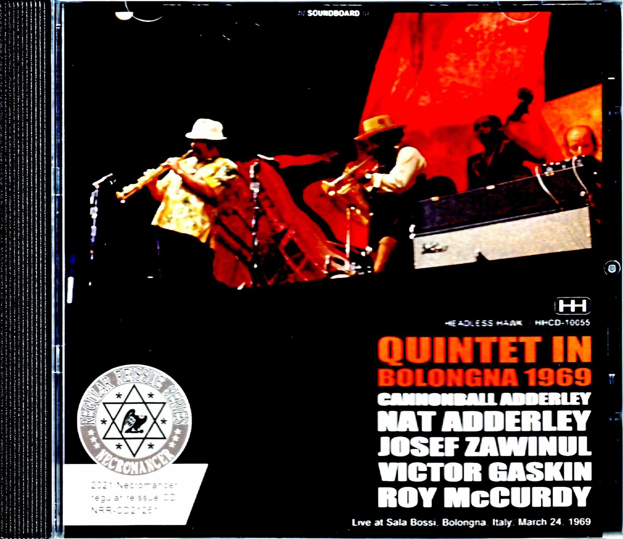 Cannonball Adderley Quintet キャノンボール・アダレイ/Italy 1969