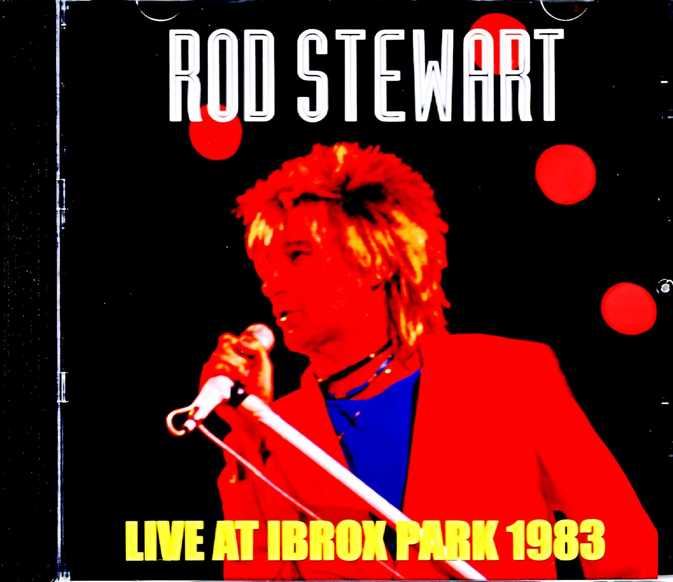 Rod Stewart ロッド・スチュワート/Scotland,UK 1983