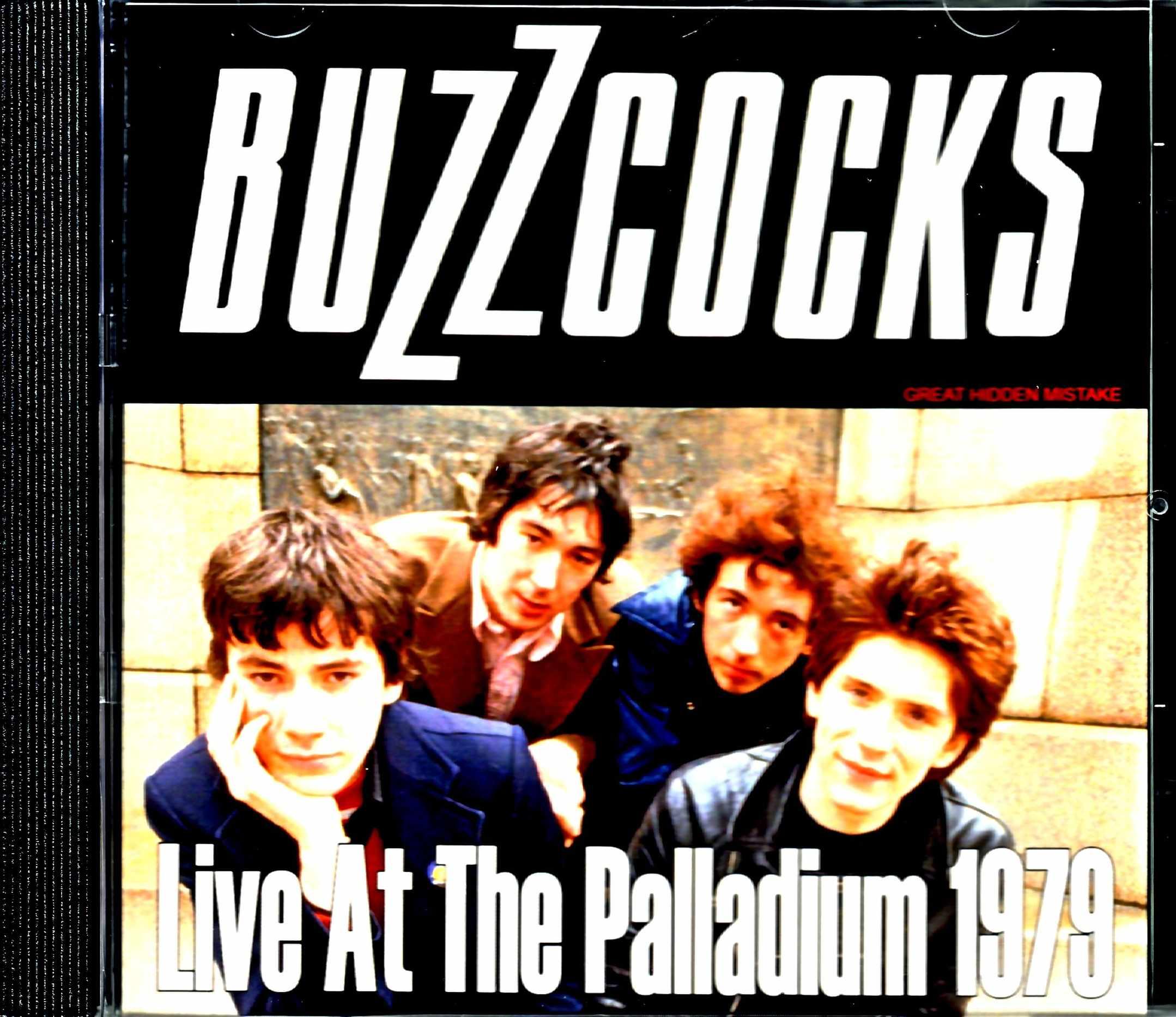 Buzzcocks バズコックス/NY,USA 1979