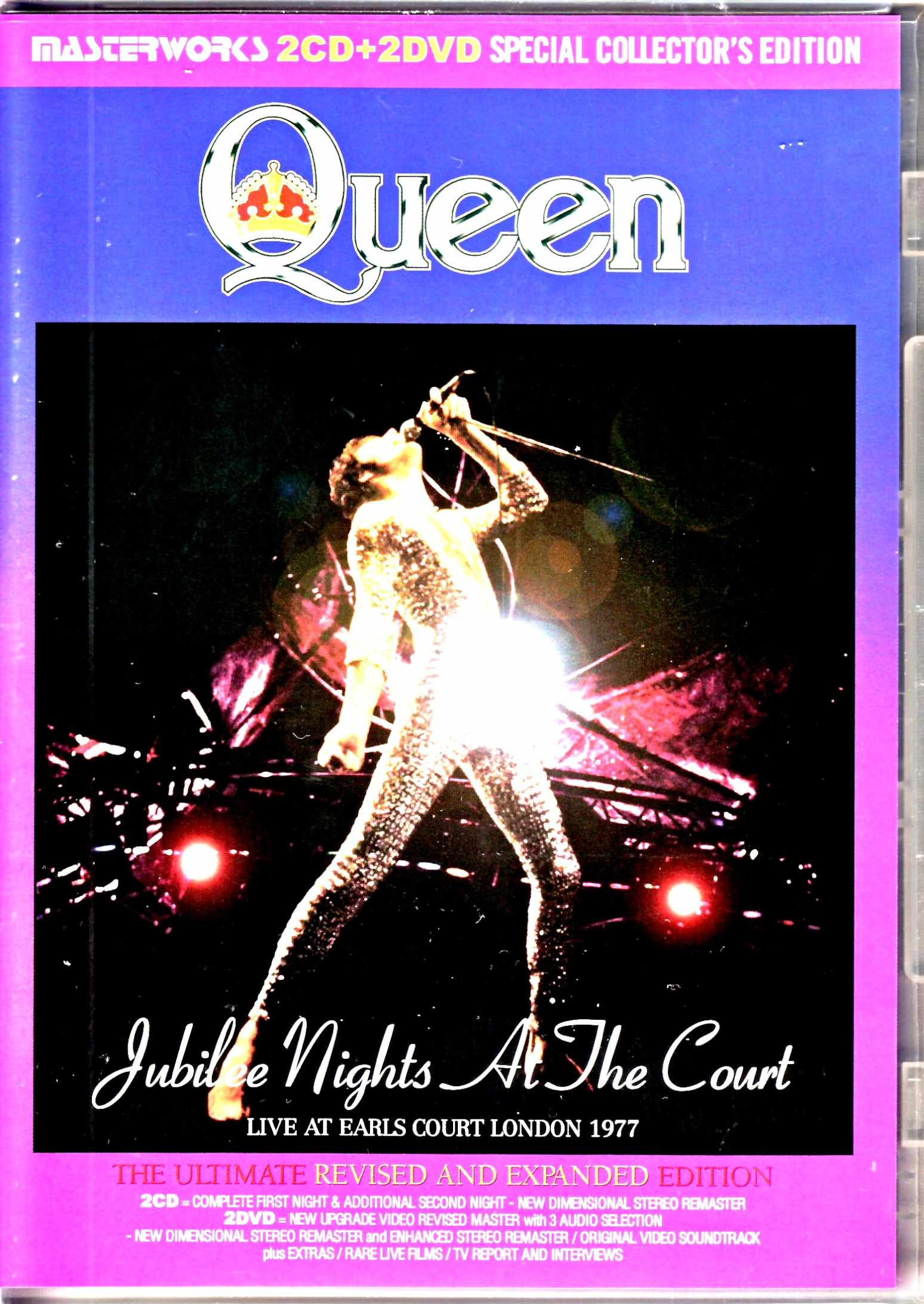 Queen クィーン/シルバー・ジュビリー・コンサート London,UK 1977 Ultimate Revised and Expanded Edition