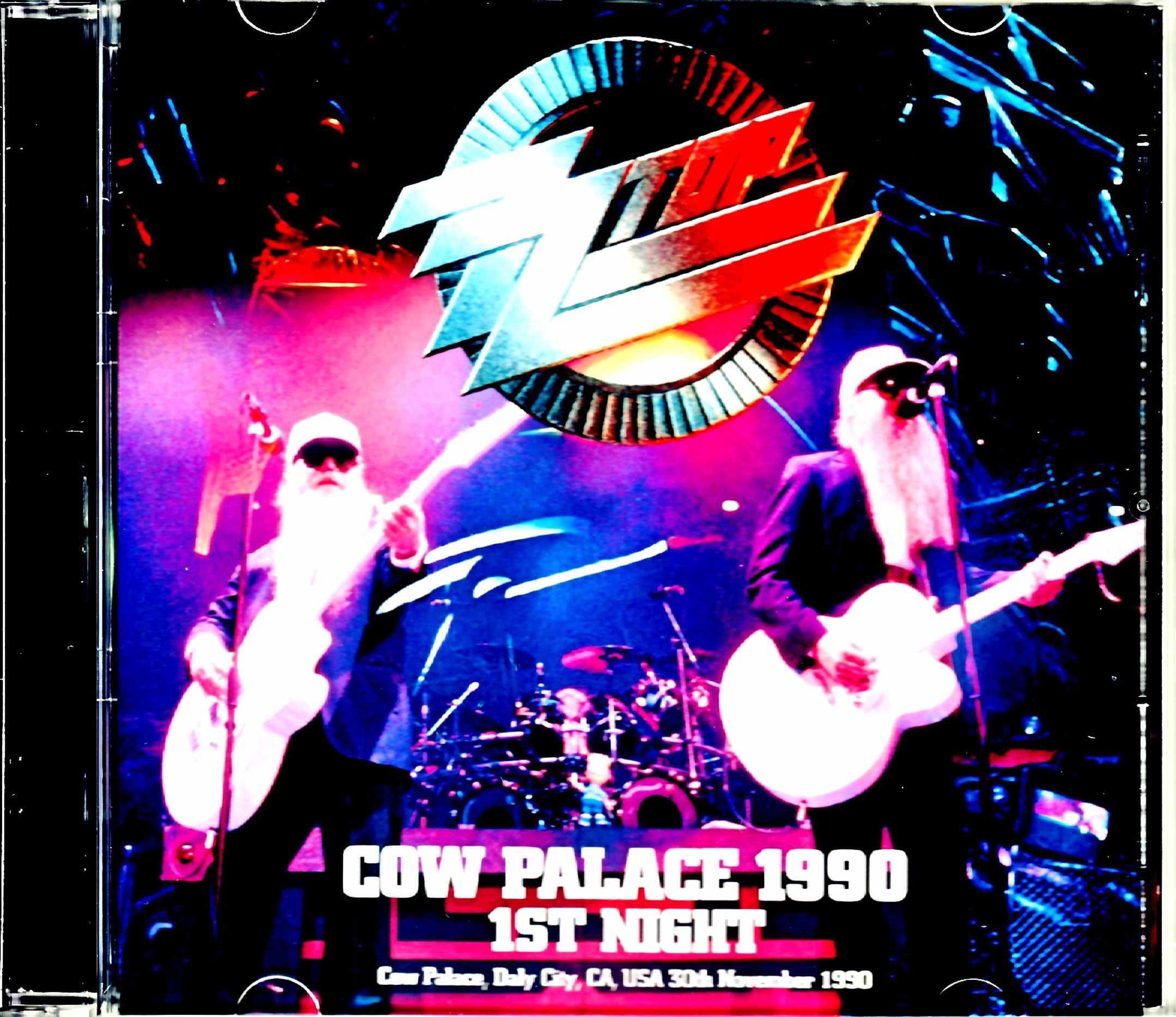 ZZ Top ZZ・トップ/CA,USA 11.30.1990