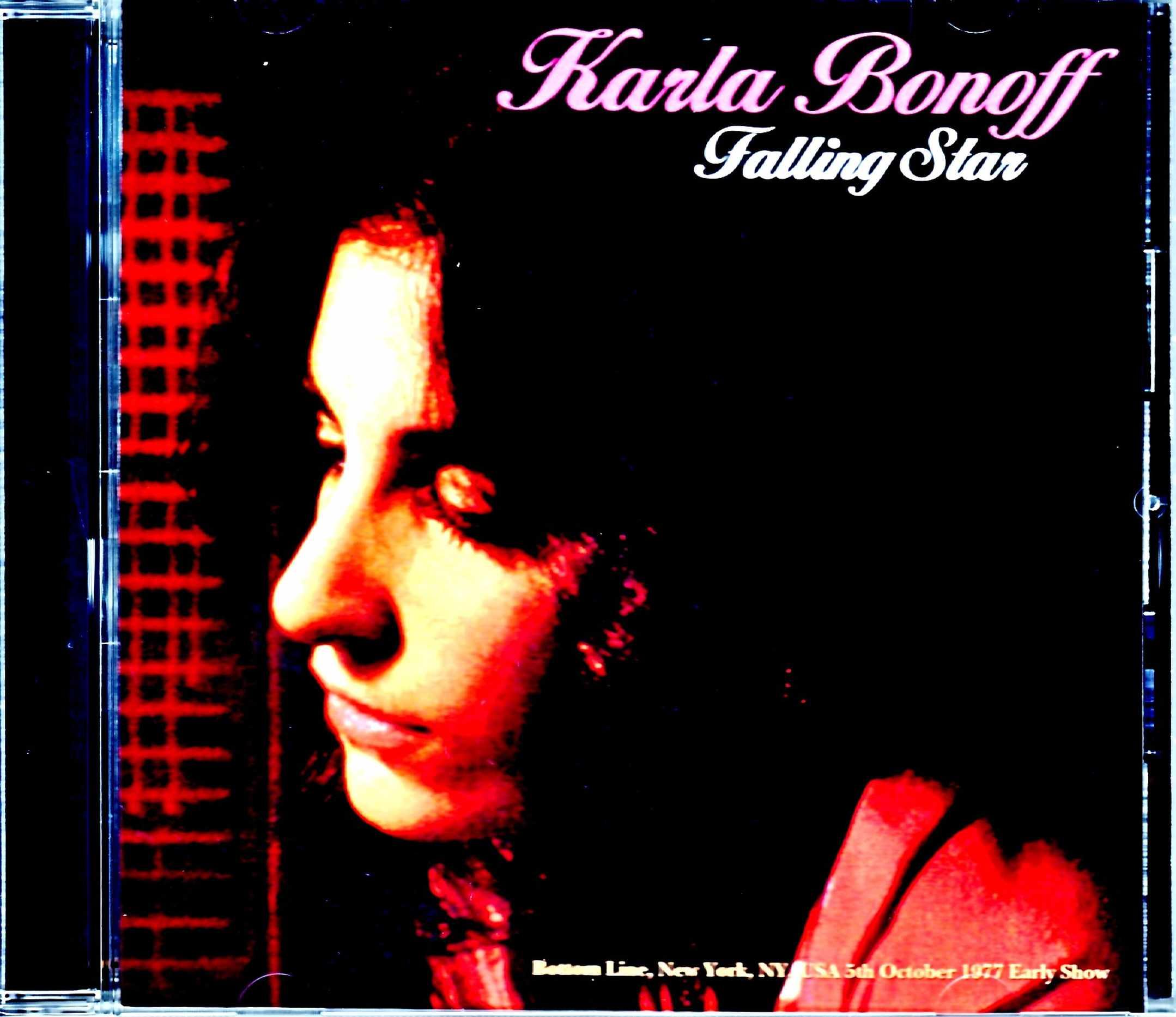 Karla Bonoff カーラ・ボノフ/NY,USA 1977 Early Show Complete