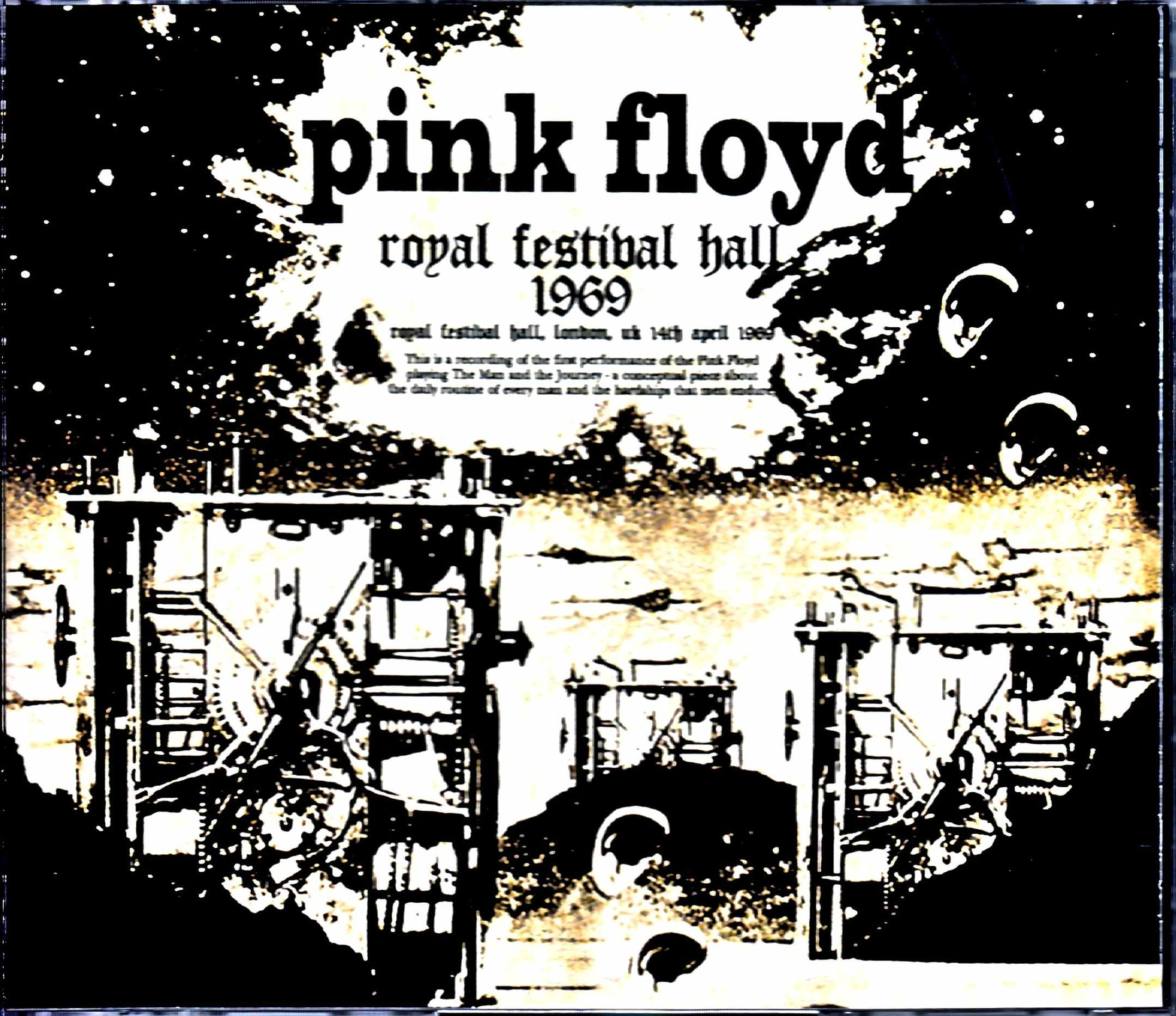 Pink Floyd ピンク・フロイド/London,UK 4.14.1969 Raw Transfer & more