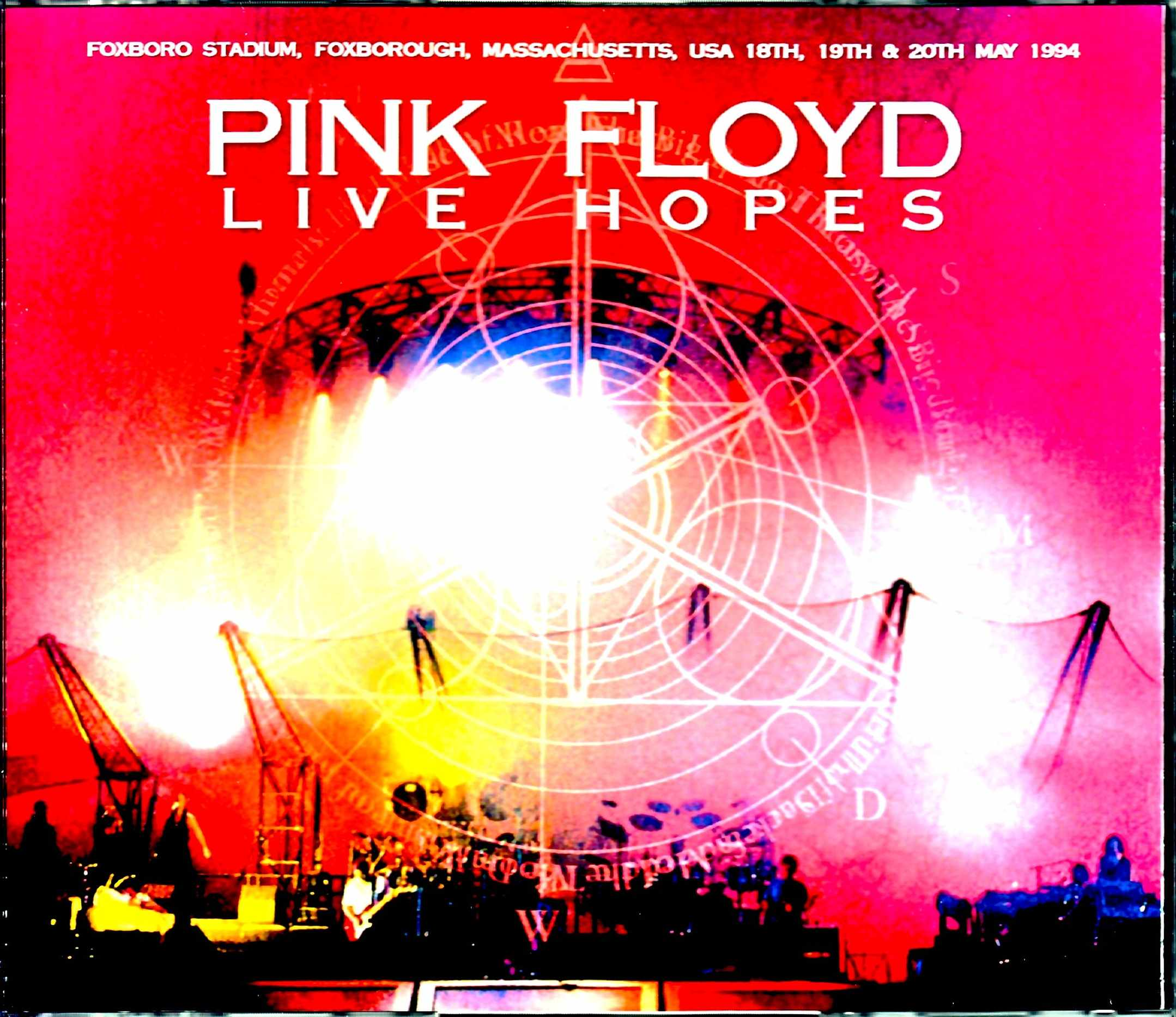 Pink Floyd ピンク・フロイド/MA,USA 1994 3Days Complete