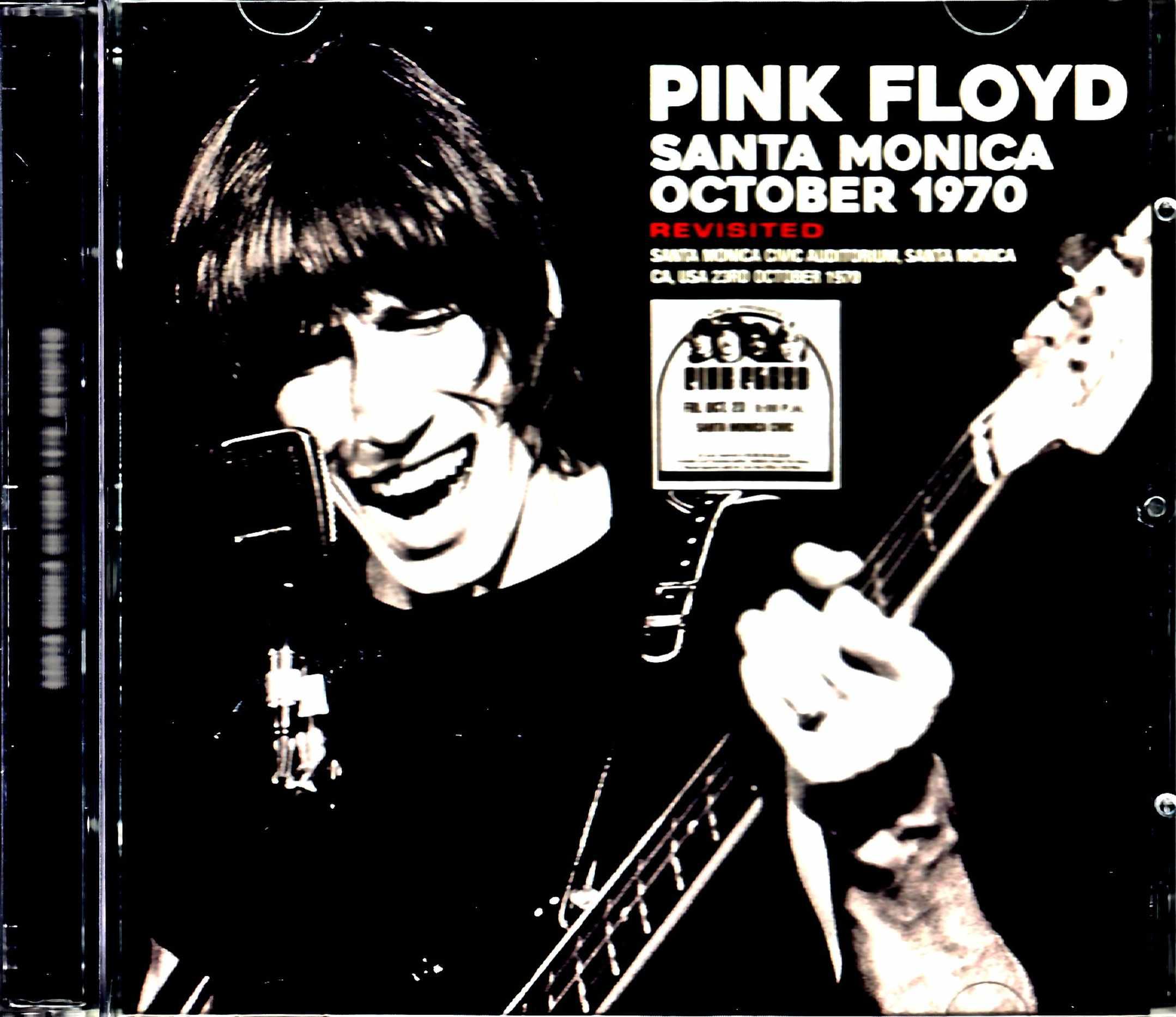 Pink Floyd ピンク・フロイド/CA,USA 10.23.1970 Upgrade