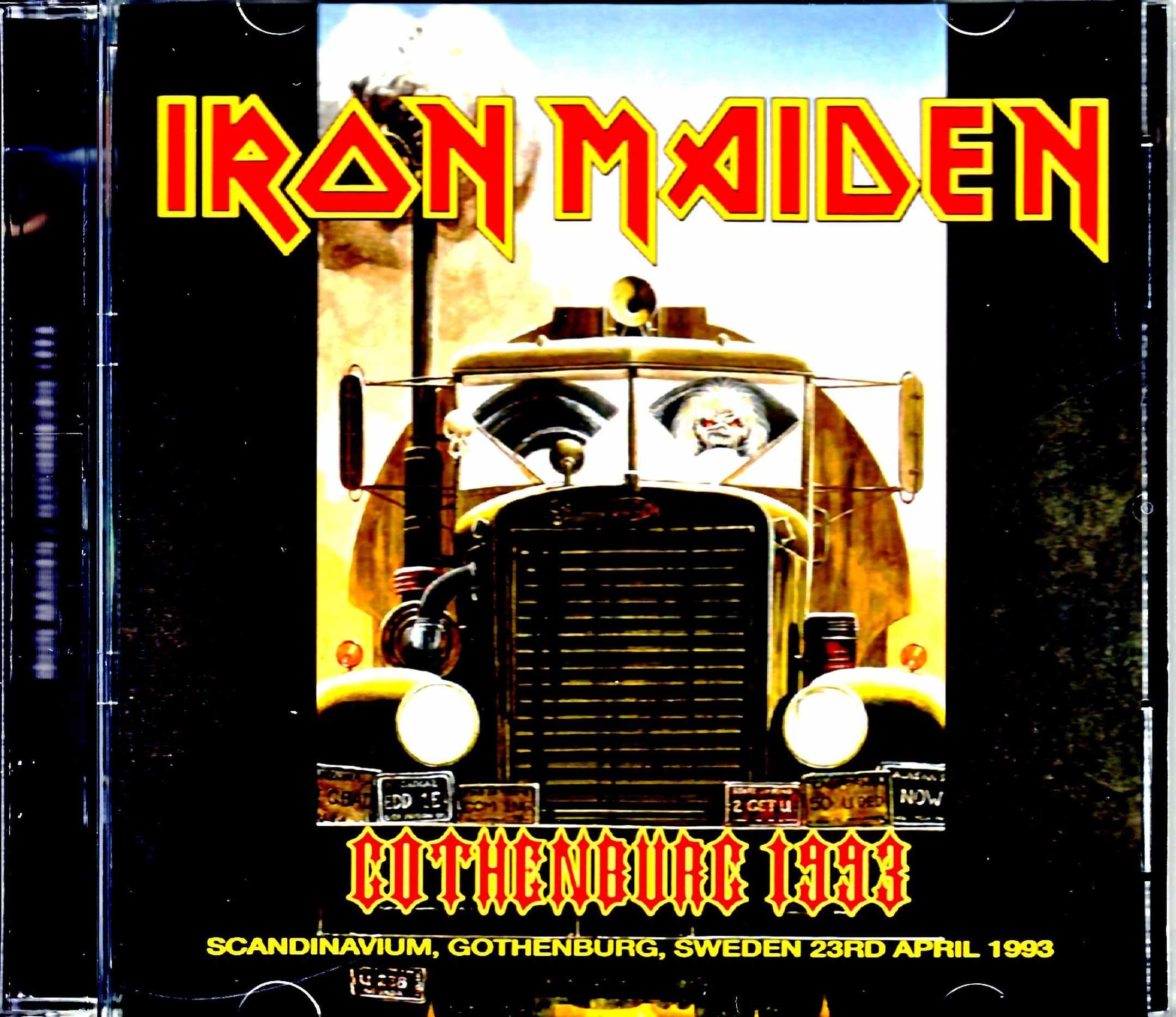 Iron Maiden アイアン・メイデン/Sweden 1993