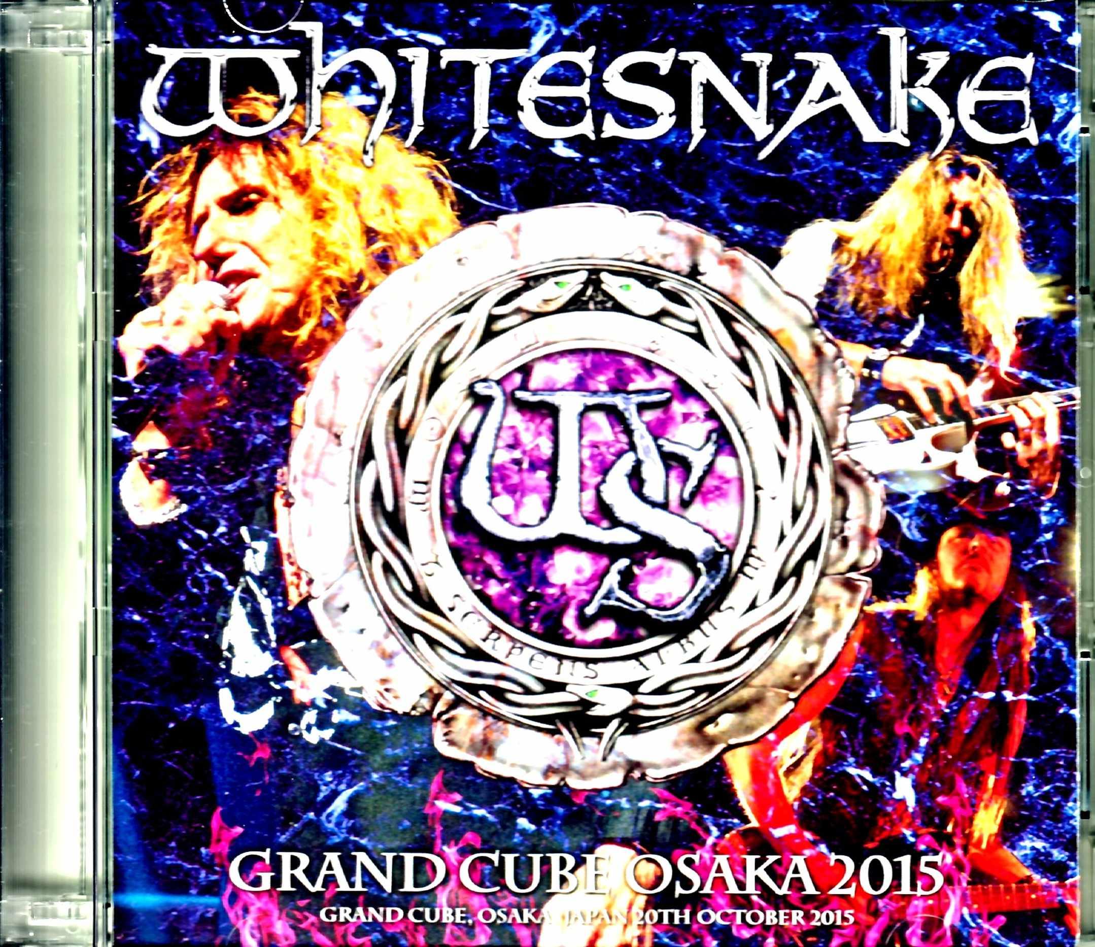 Whitesnake ホワイトスネイク/Osaka,Japan 10.20.2015