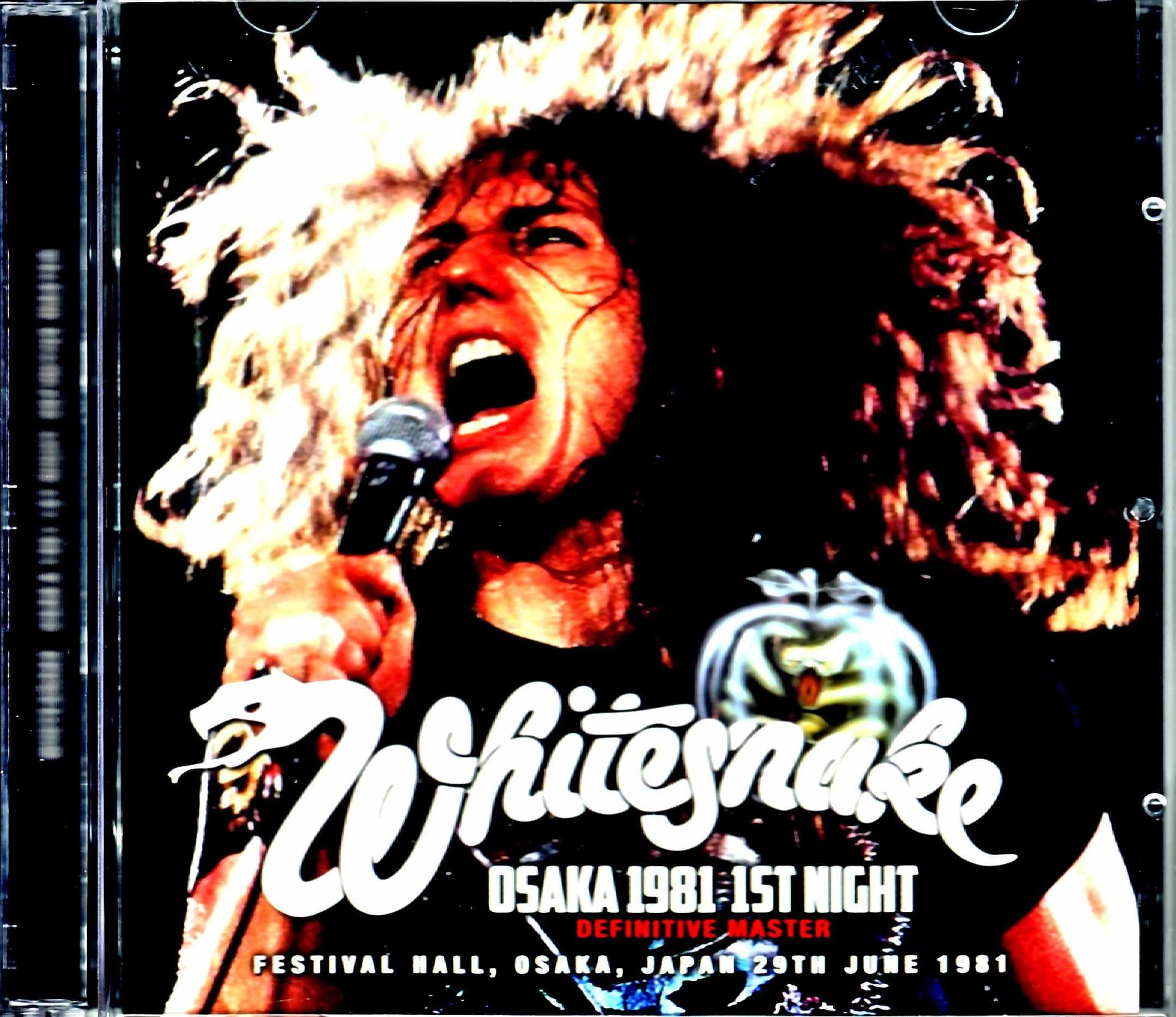 Whitesnake ホワイトスネイク/Osaka,Japan  6.29.1981