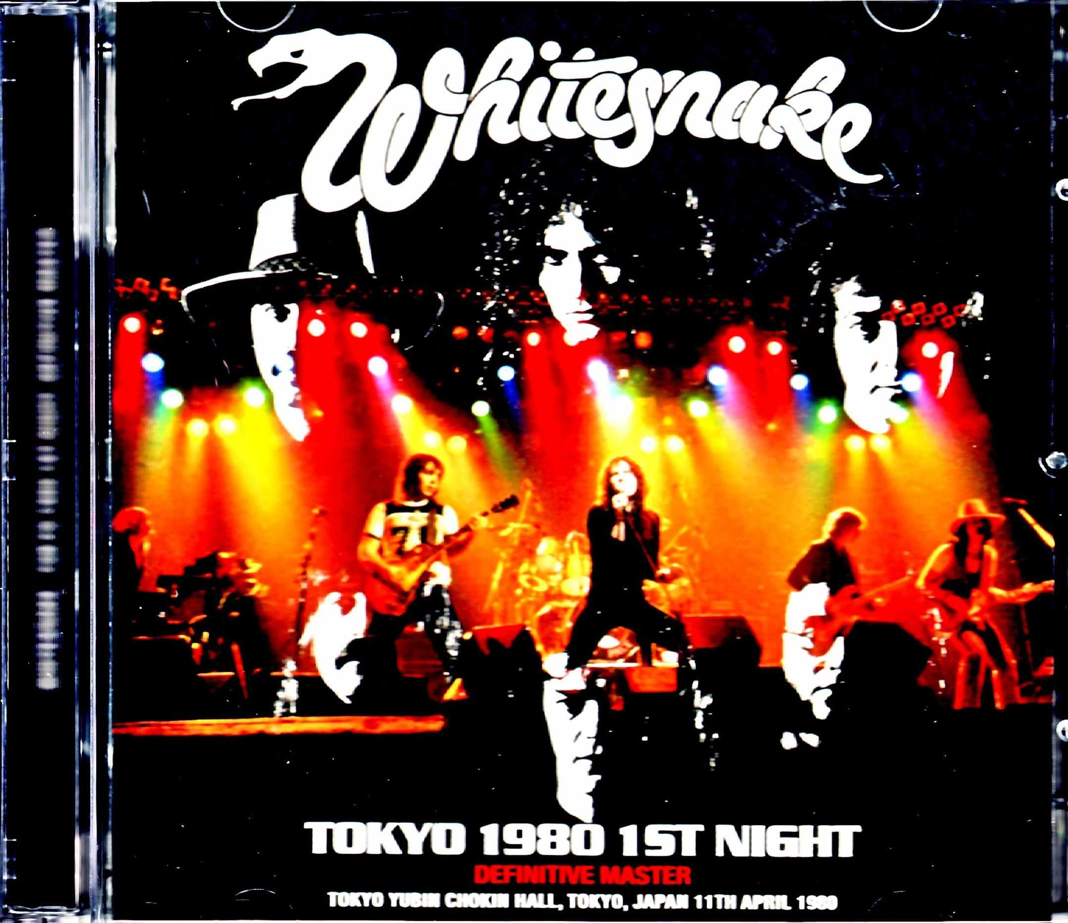 Whitesnake ホワイトスネイク/Tokyo,Japan 4.11.1980