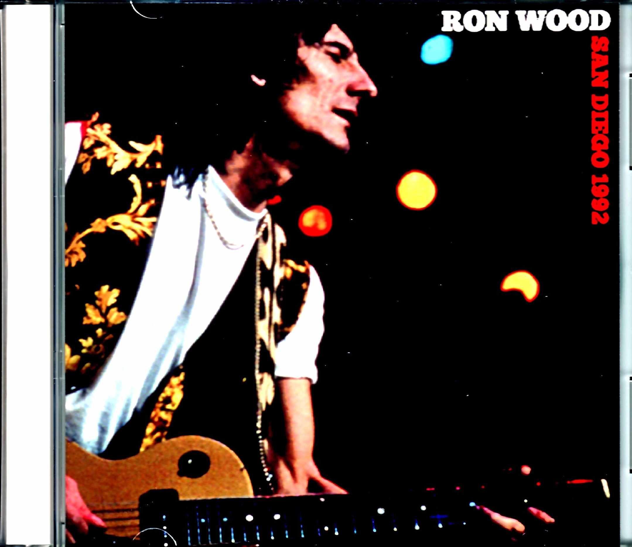 Ron Wood ロン・ウッド/CA,USA 1992