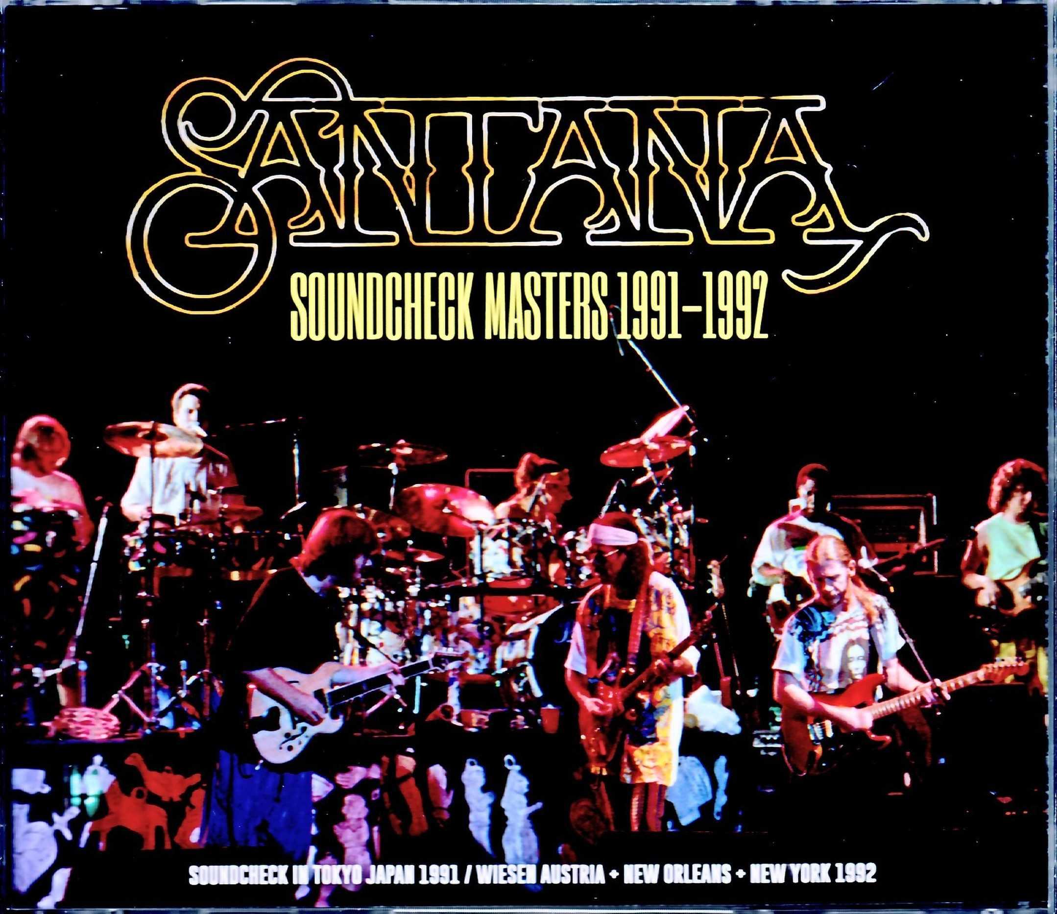 Santana サンタナ/Soundcheck Rehearsals 1991-1992