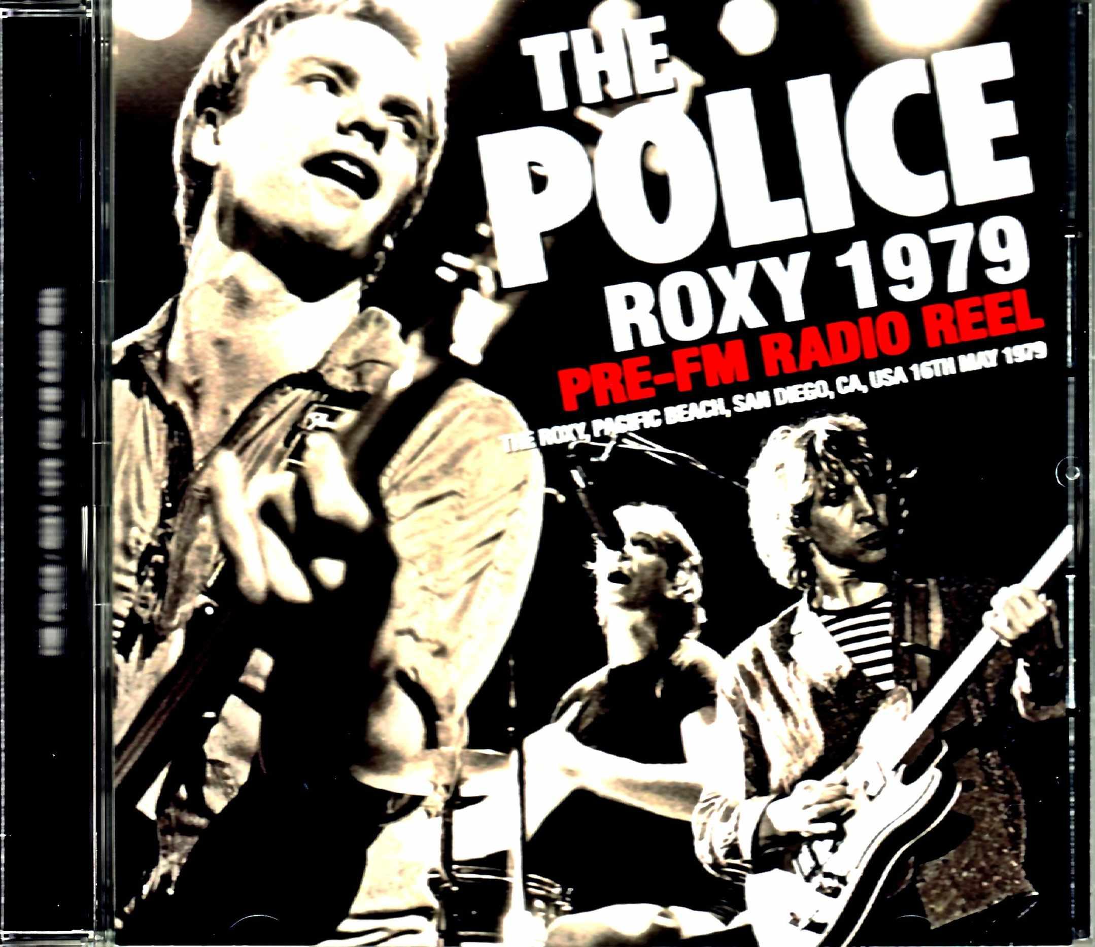Police ポリス/CA,USA 1979 Pre-FM Radio Reel