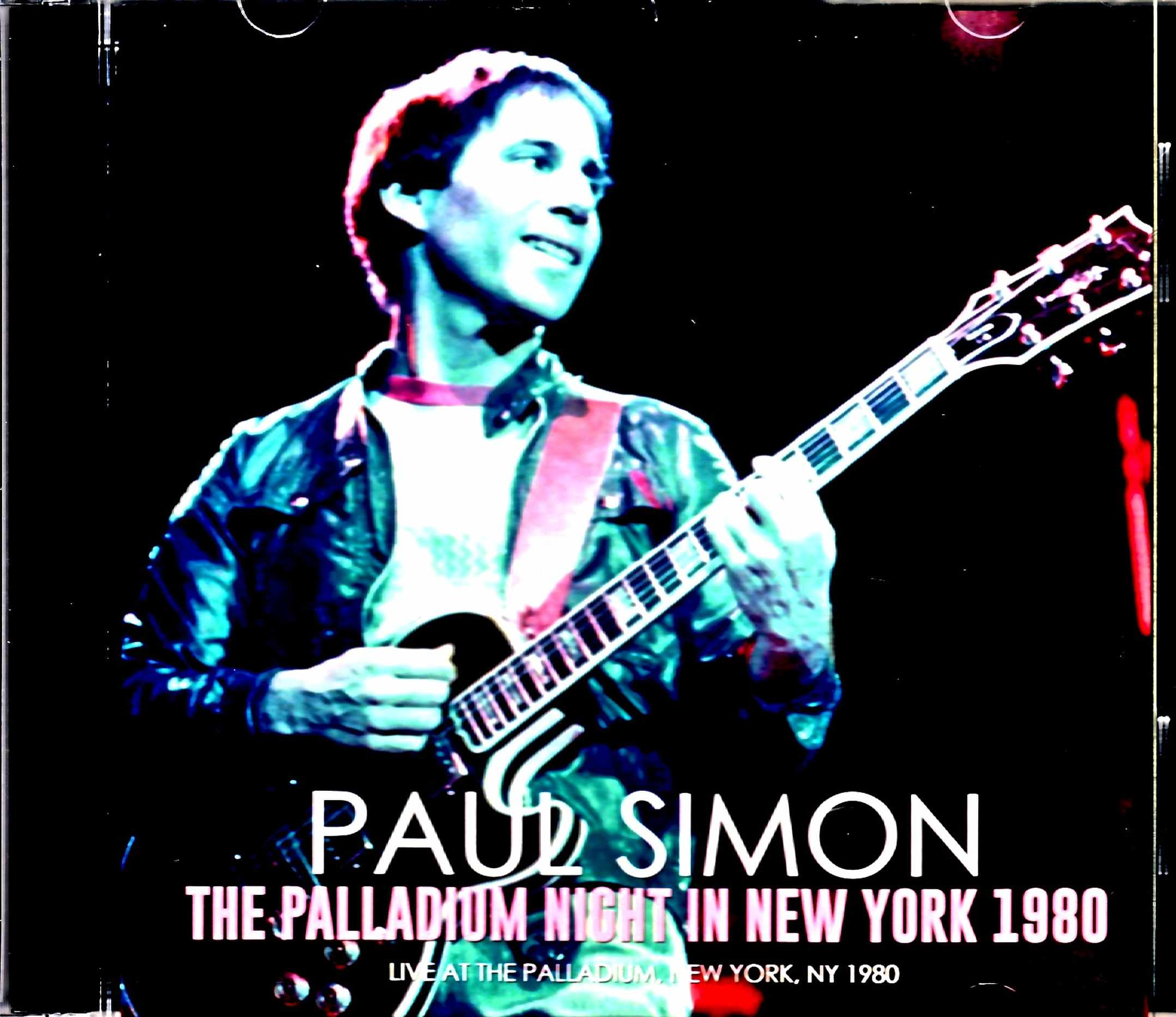 Paul Simon ポール・サイモン/NY,USA 1980 Complete