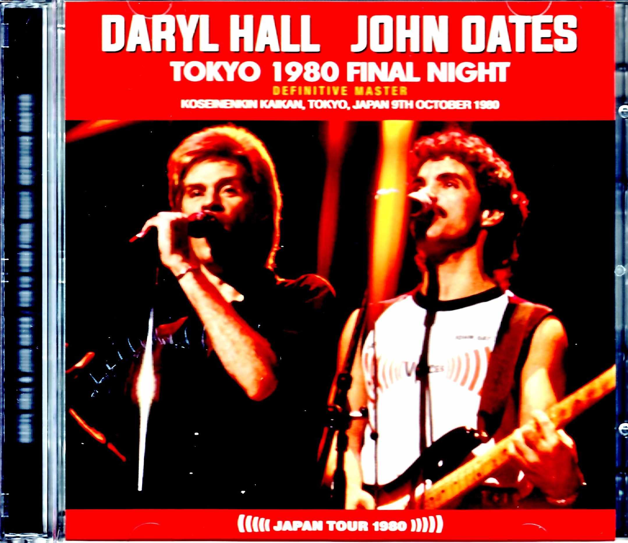 Hall & Oates ホール・アンド・オーツ/Tokyo,Japan 10.9.1980