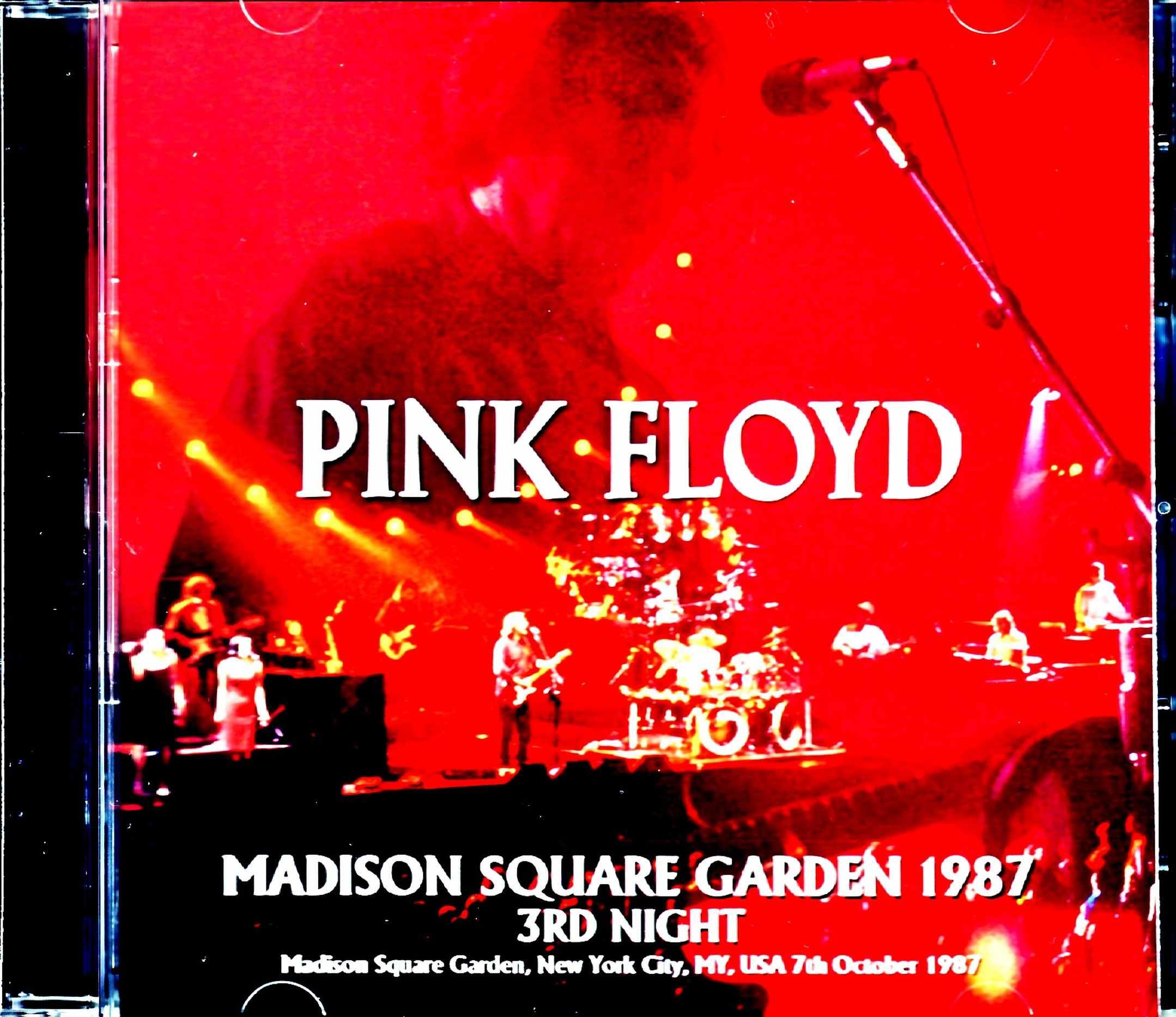 Pink Floyd ピンク・フロイド/NY,USA 10.7.1987