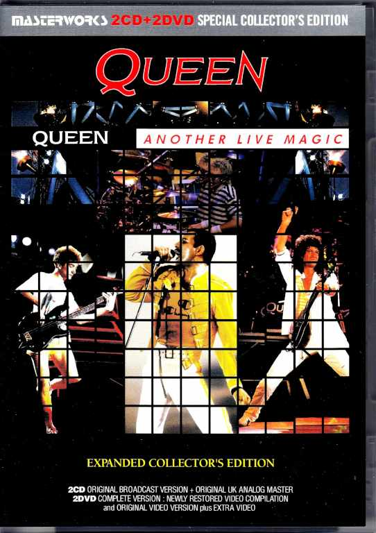 Queen クィーン/ライヴ・マジック Live Magic Expanded Collector's Edition