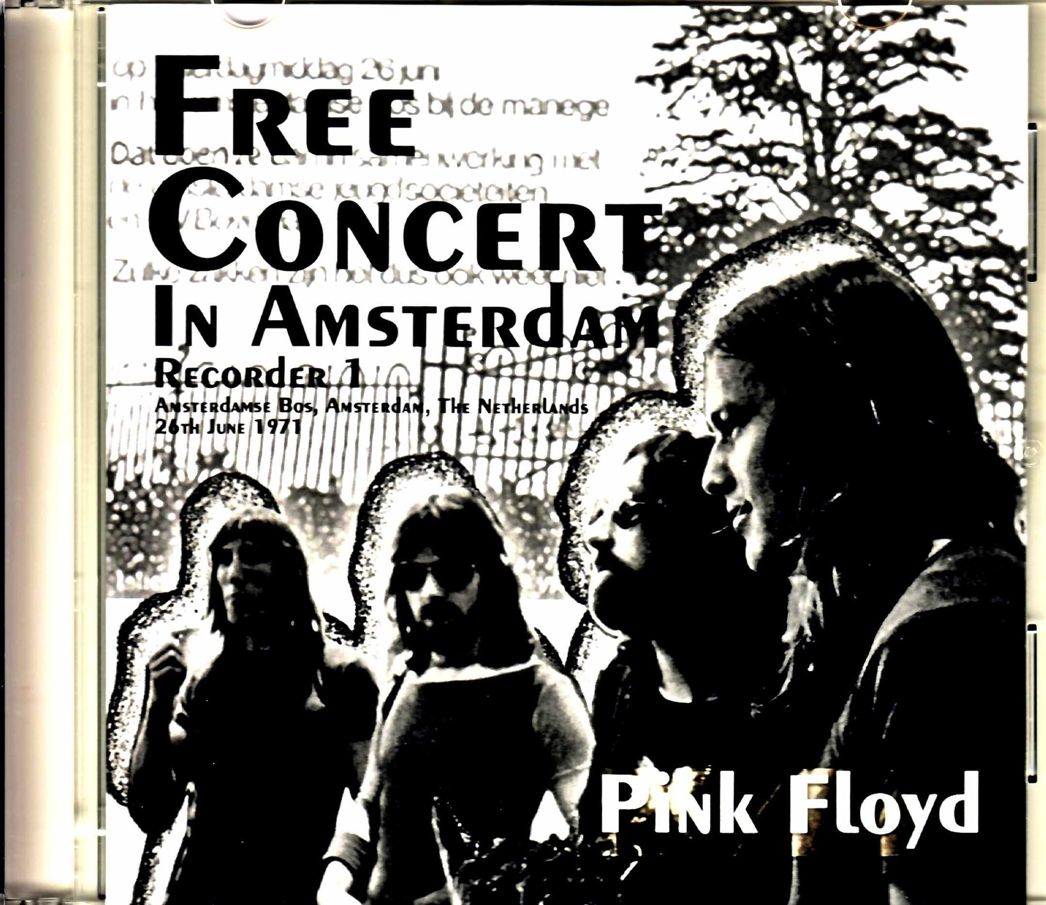 Pink Floyd ピンク・フロイド/Netherlands 6.26.1971