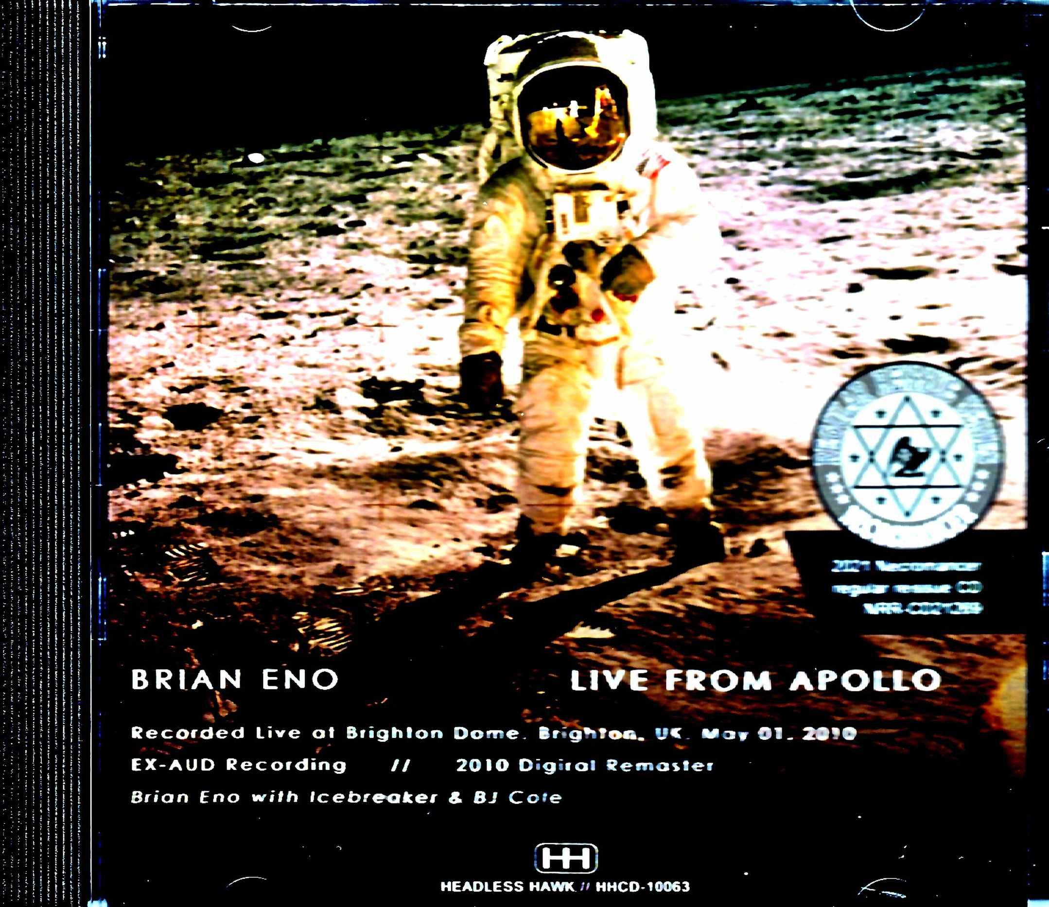 Brian Eno,BJ Cole ブライアン・イーノ/UK 2010