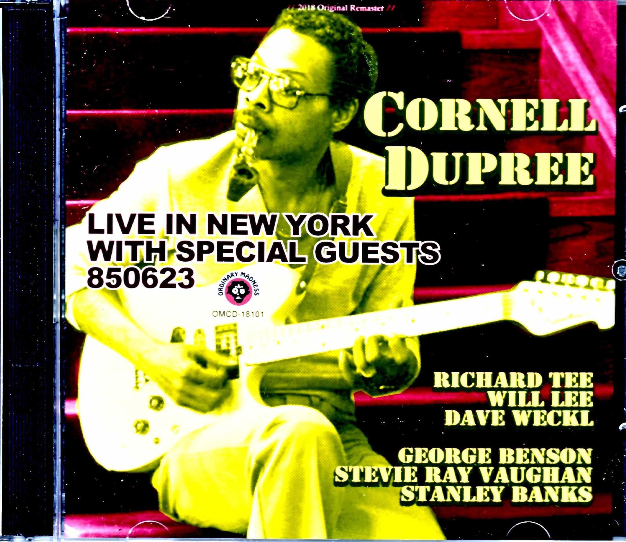Cornell Dupree,Richard Tee コーネル・デュプリー リチャード・ティー/NY,USA 1985 Late Show
