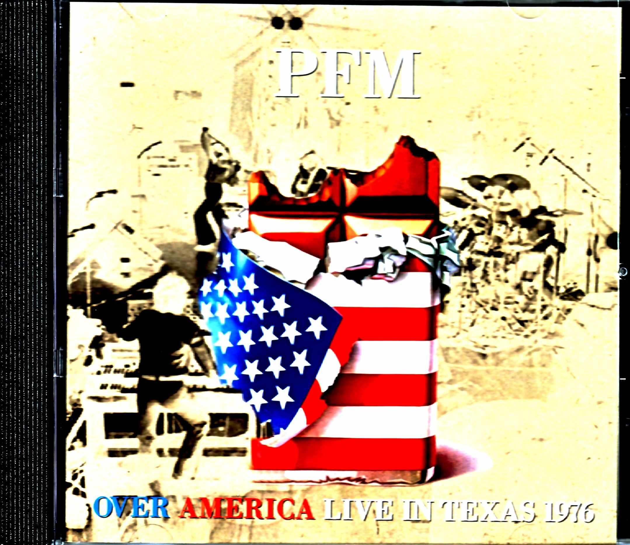 P.F.M. Premiata Forneria Marconi プレミアータ・フォルネリア・マルコーニ/TX,USA 11.16.1976