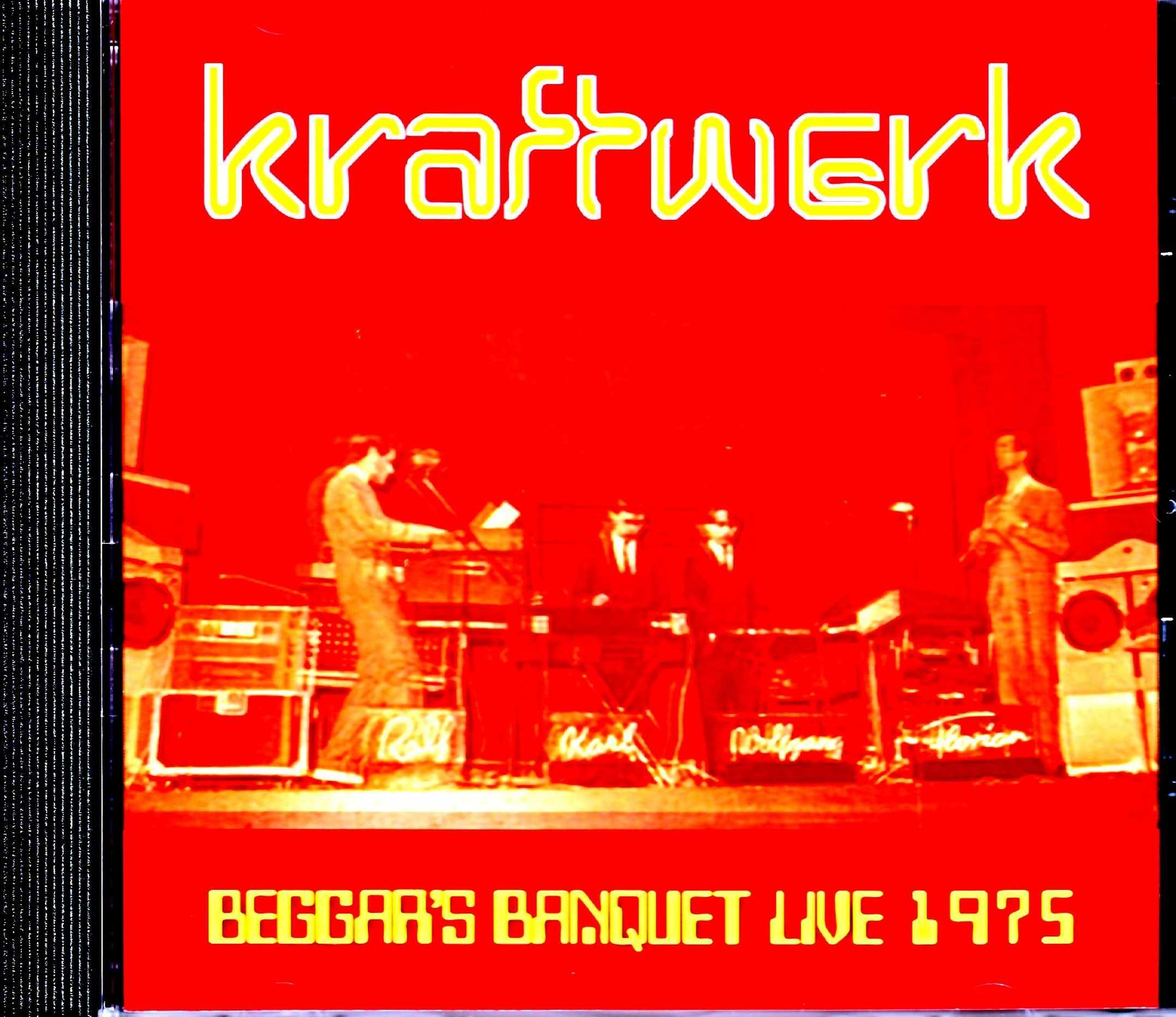 Kraftwerk クラフトワーク/KT,USA 1975