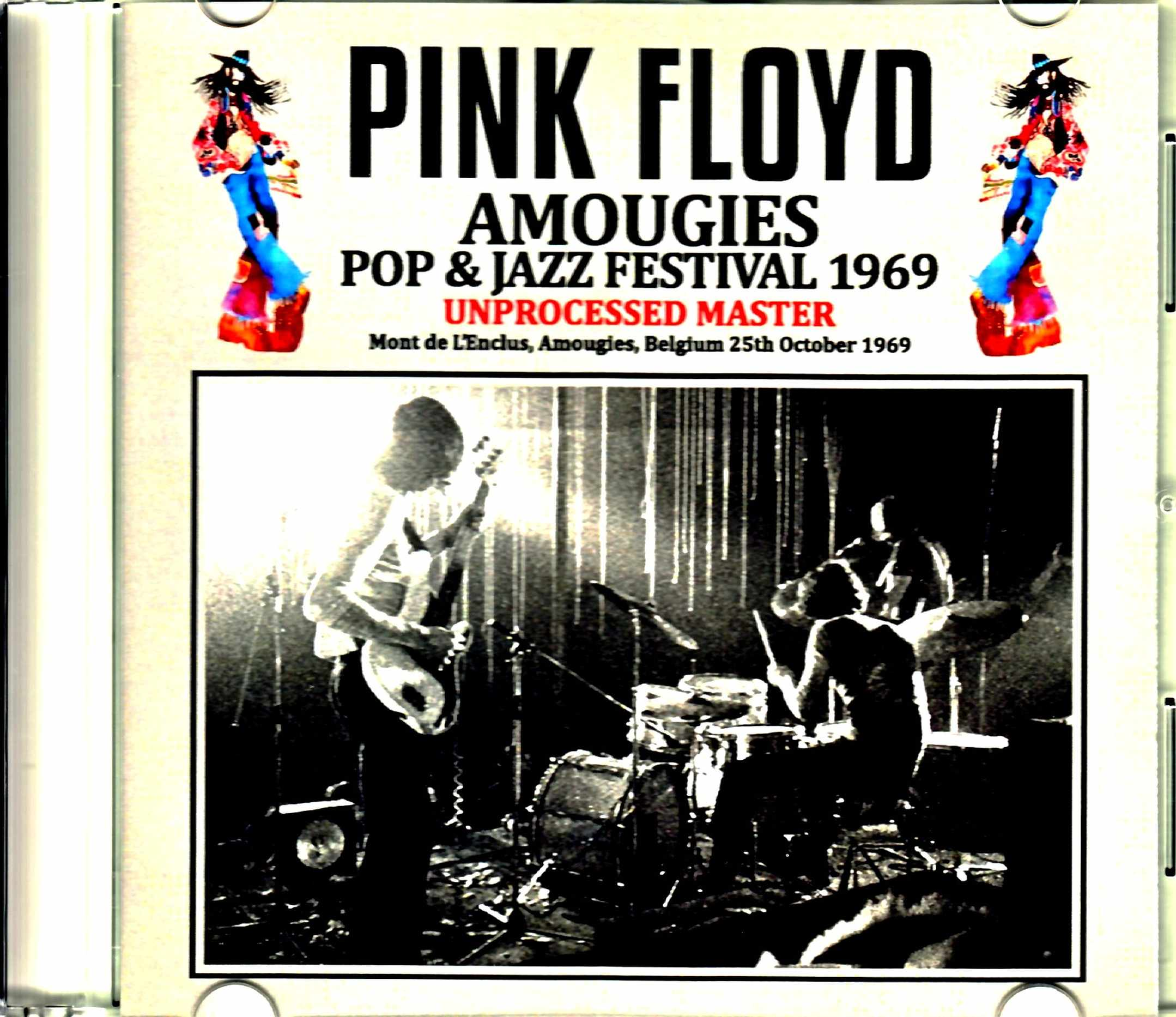 Pink Floyd ピンク・フロイド/Belgium 1969 Unprocessed Master