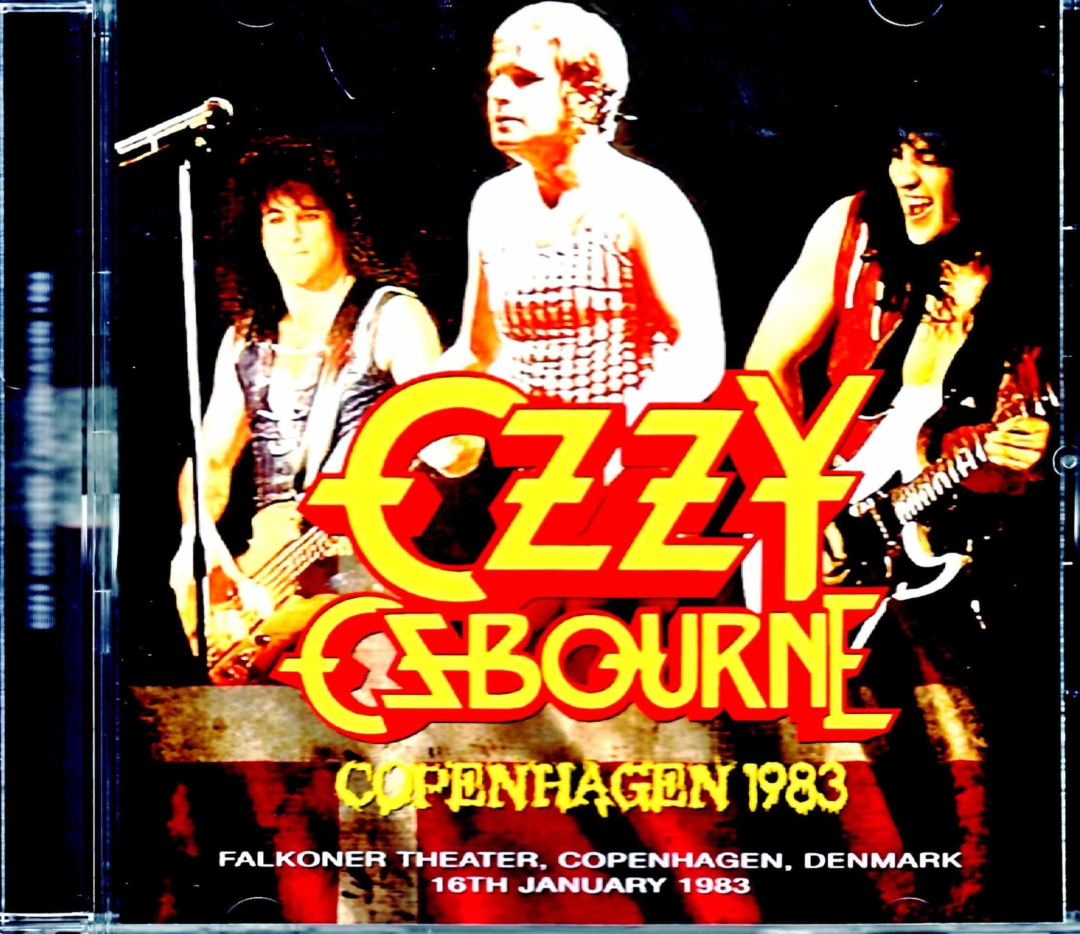 Ozzy Osbourne オジー・オズボーン/Denmark 1983