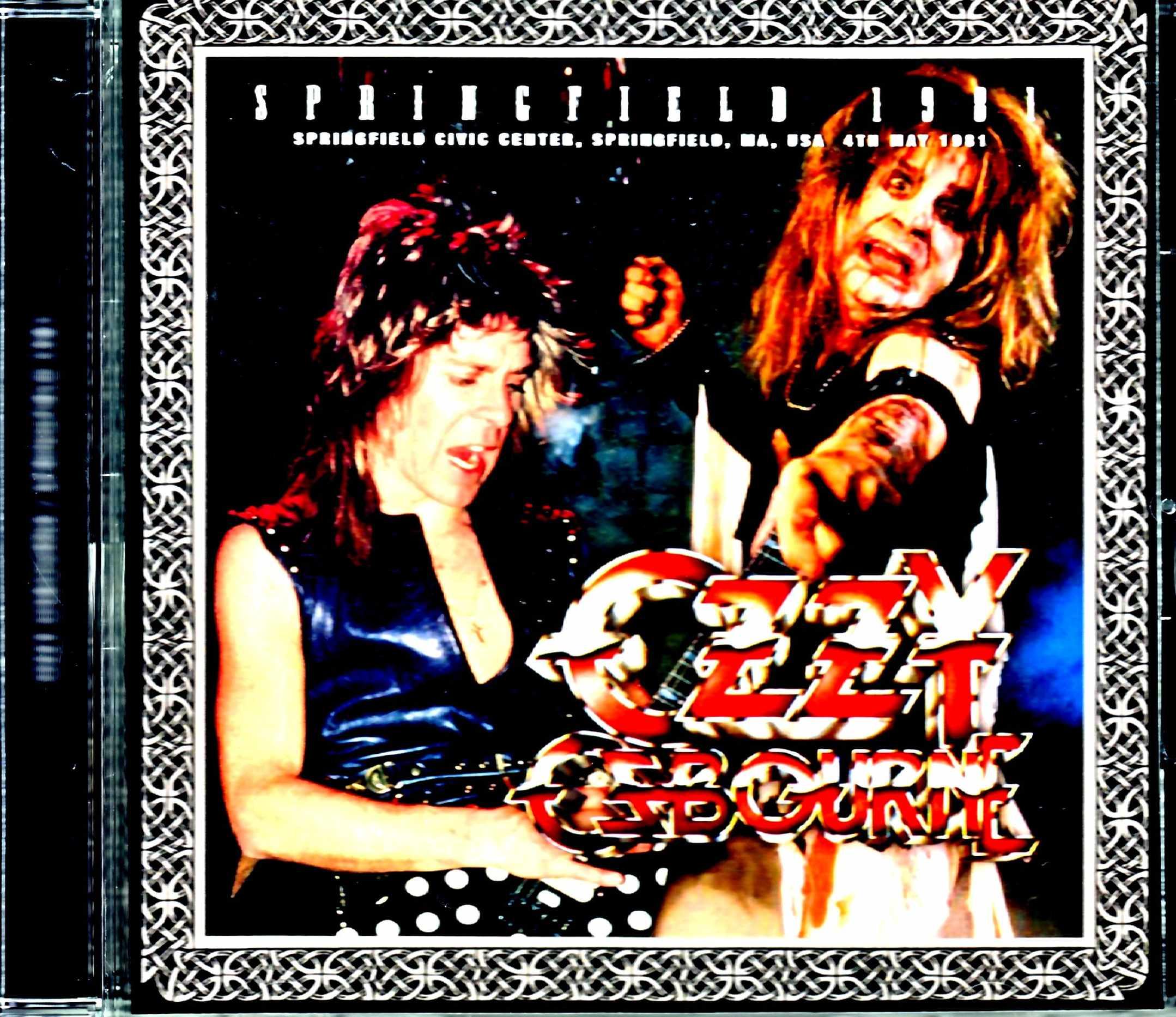 Ozzy Osbourne オジー・オズボーン/MA,USA 1981