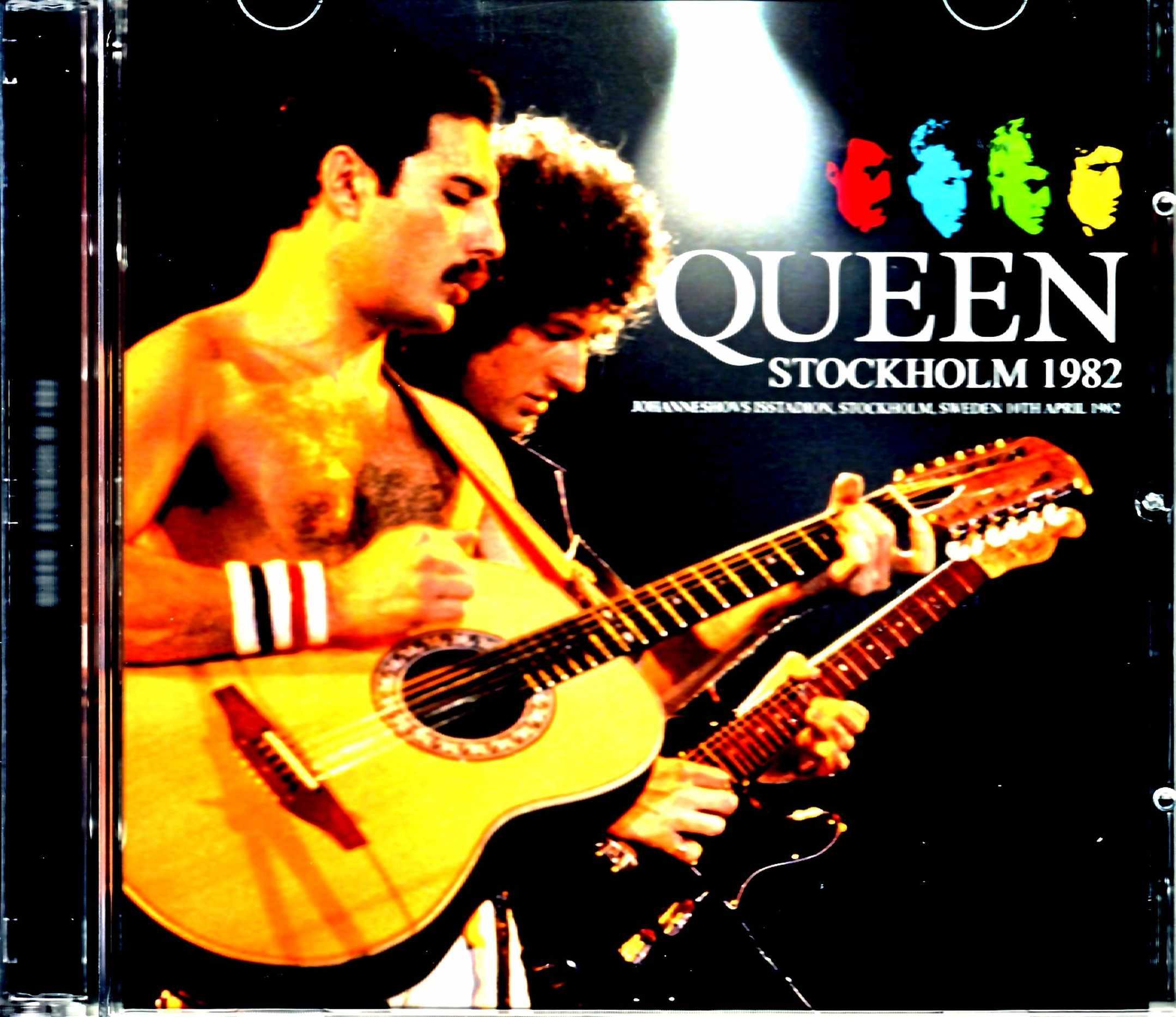 Queen クィーン/Sweden 1982 2Source Mix