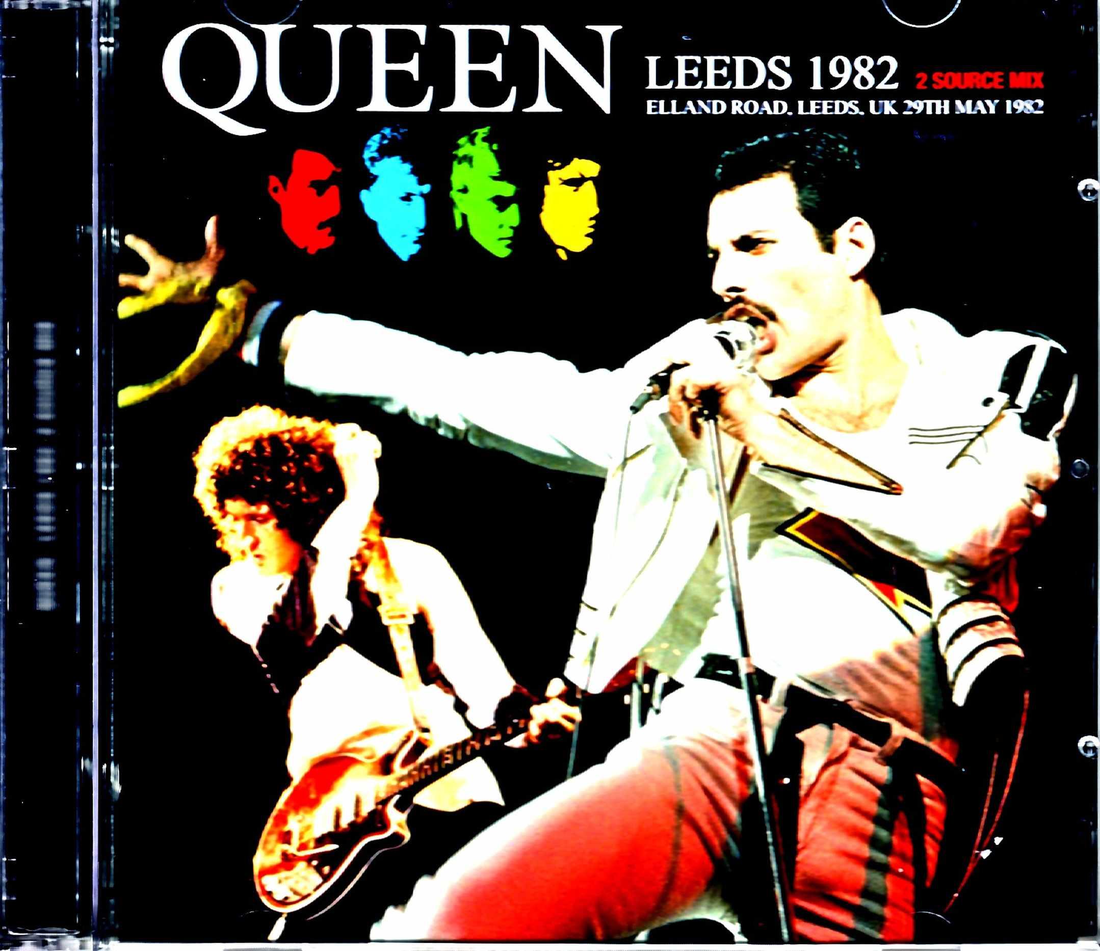 Queen クィーン/England,UK 1982 2Source Mix