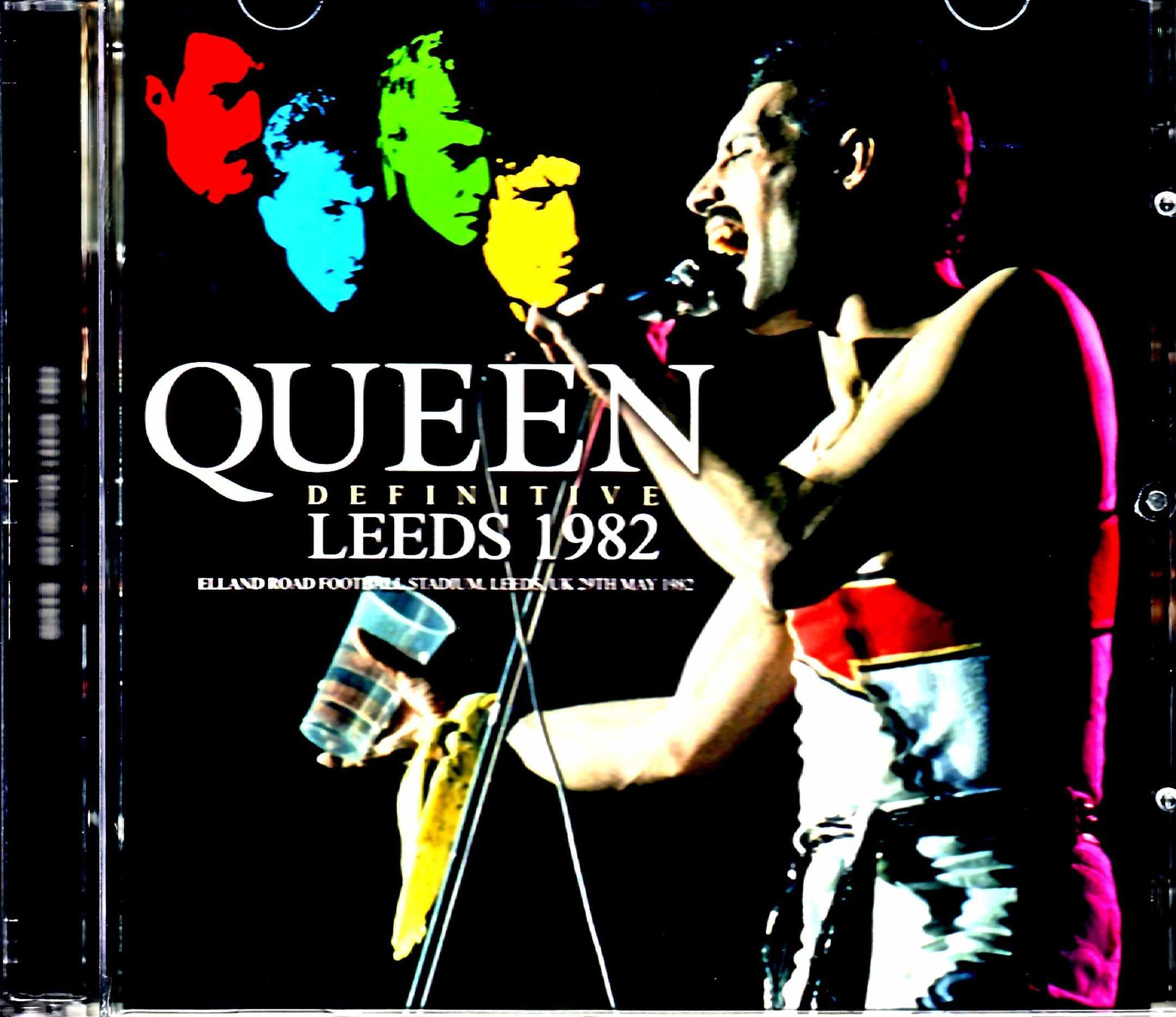 Queen クィーン/England,UK 1982 Upgrade