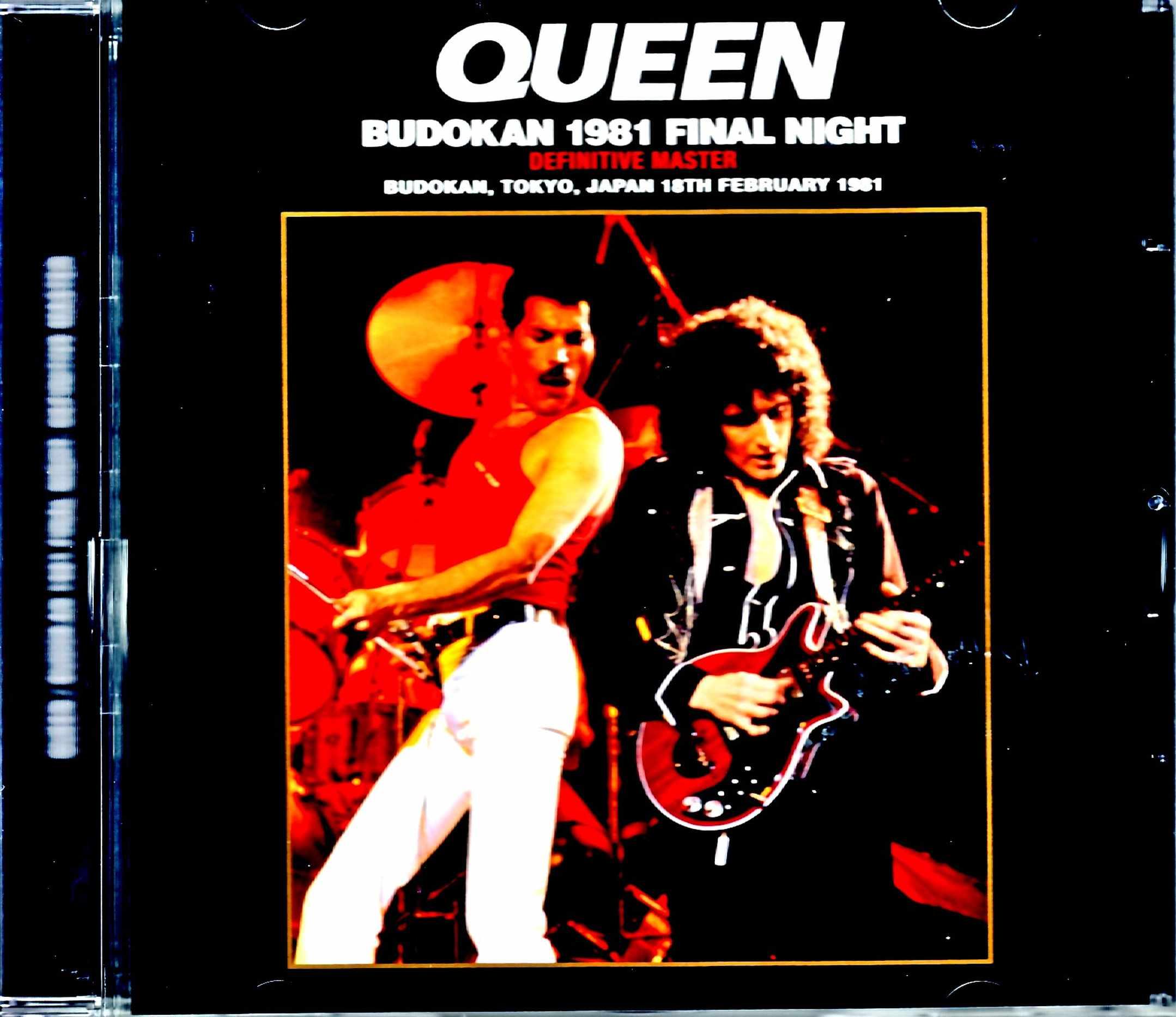 Queen クィーン/Tokyo,Japan 2.18.1981 New Source