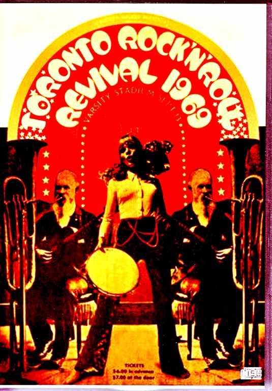 Various Artists Bo Diddley,Chuck Berry,Little Richard,John Lennon,Doors/トロント・ロックン・ロール・リバイバル 1969 Canada 1969