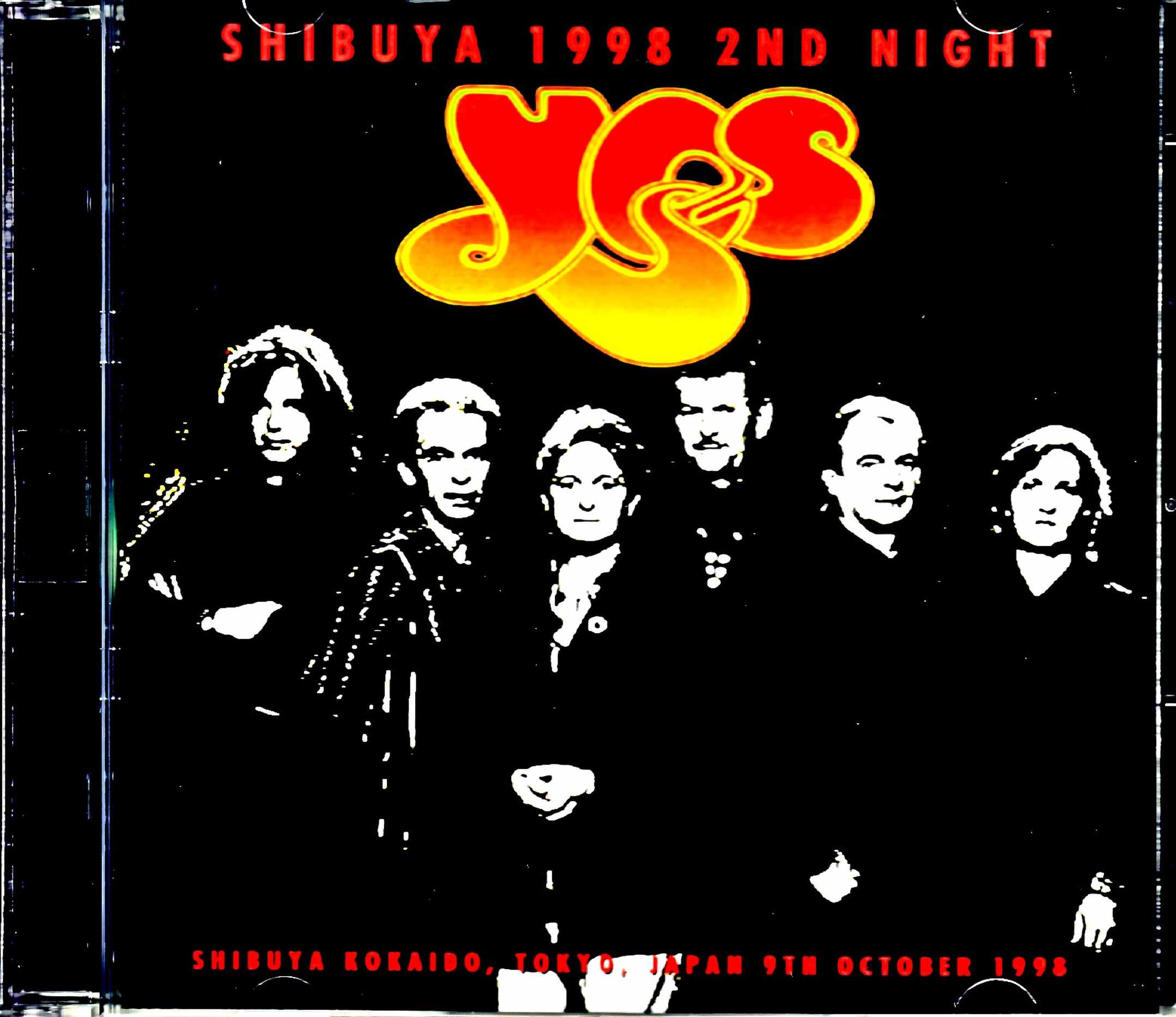 Yes イエス/Tokyo,Japan 10.9.1998 New Source