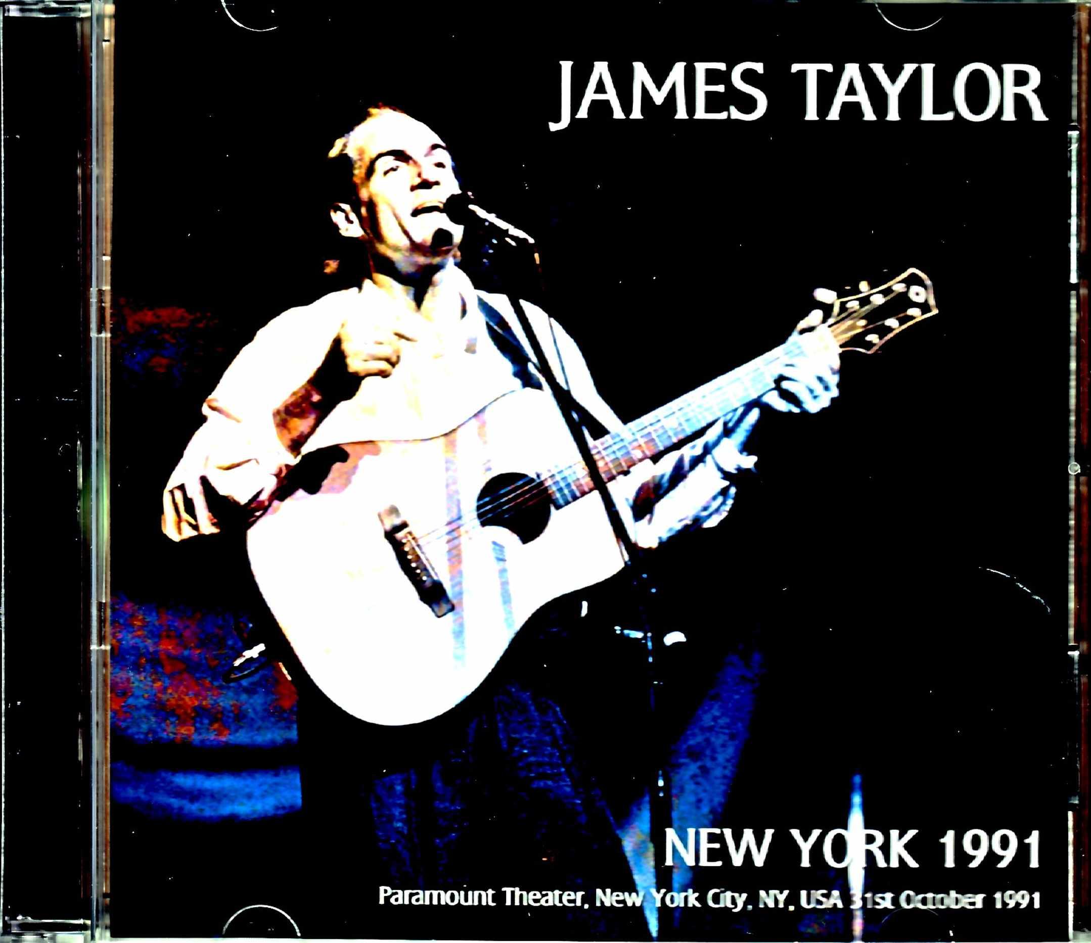 James Taylor ジェームス・テイラー/NY,USA 1991