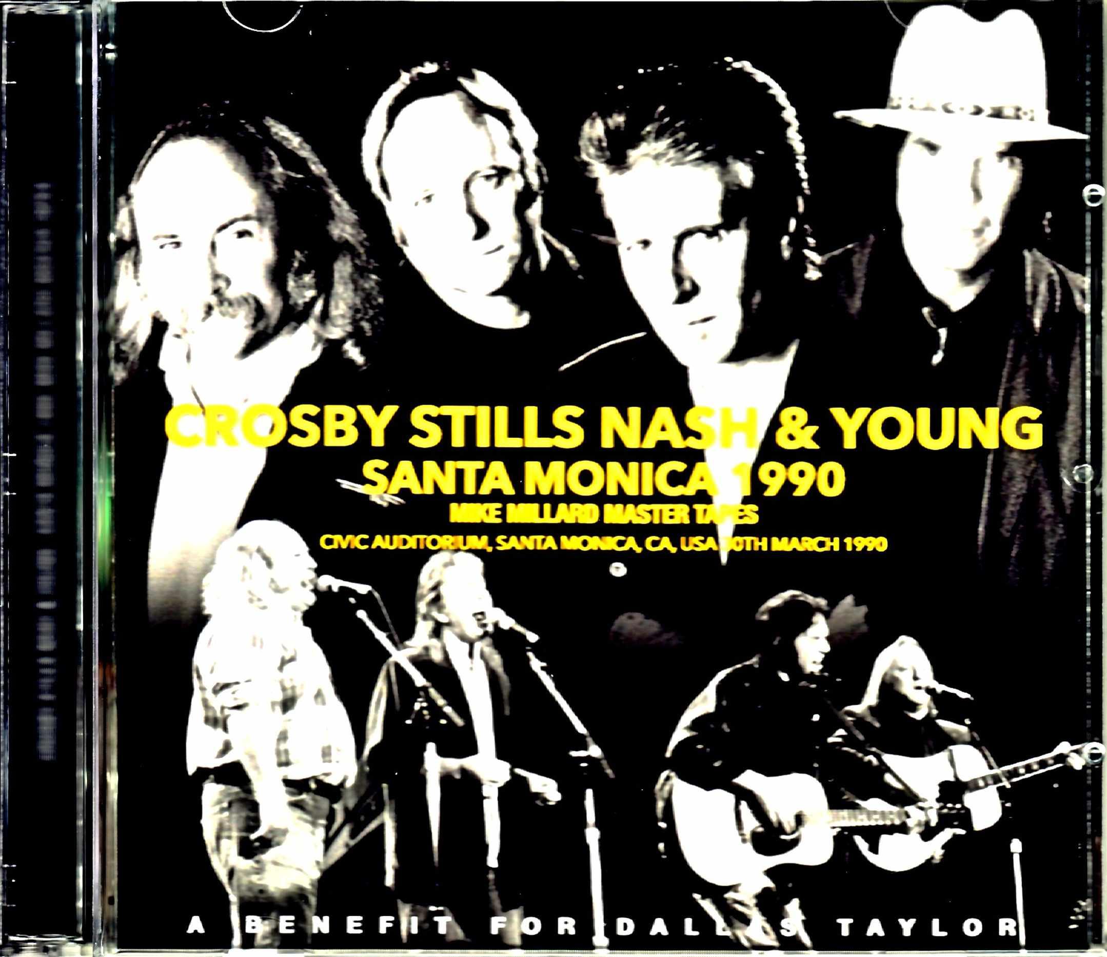 Crosby,Stills,Nash & Young クロスビー・スティルス・ナッシュ・アンド・ヤング/CA,USA 1990 Mike Millard Master Tapes