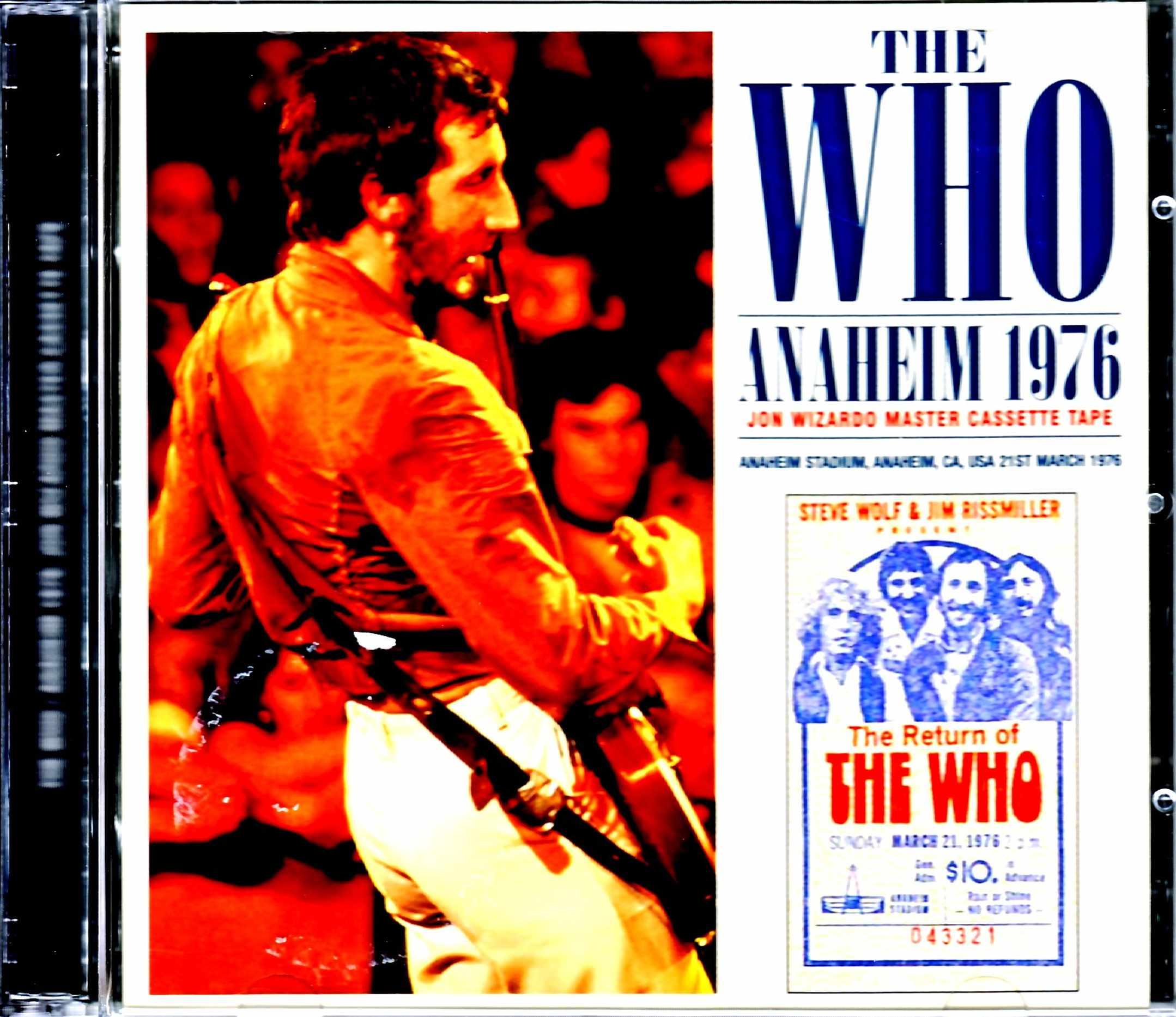 Who,The ザ・フー/CA,USA 1976 Upgrade