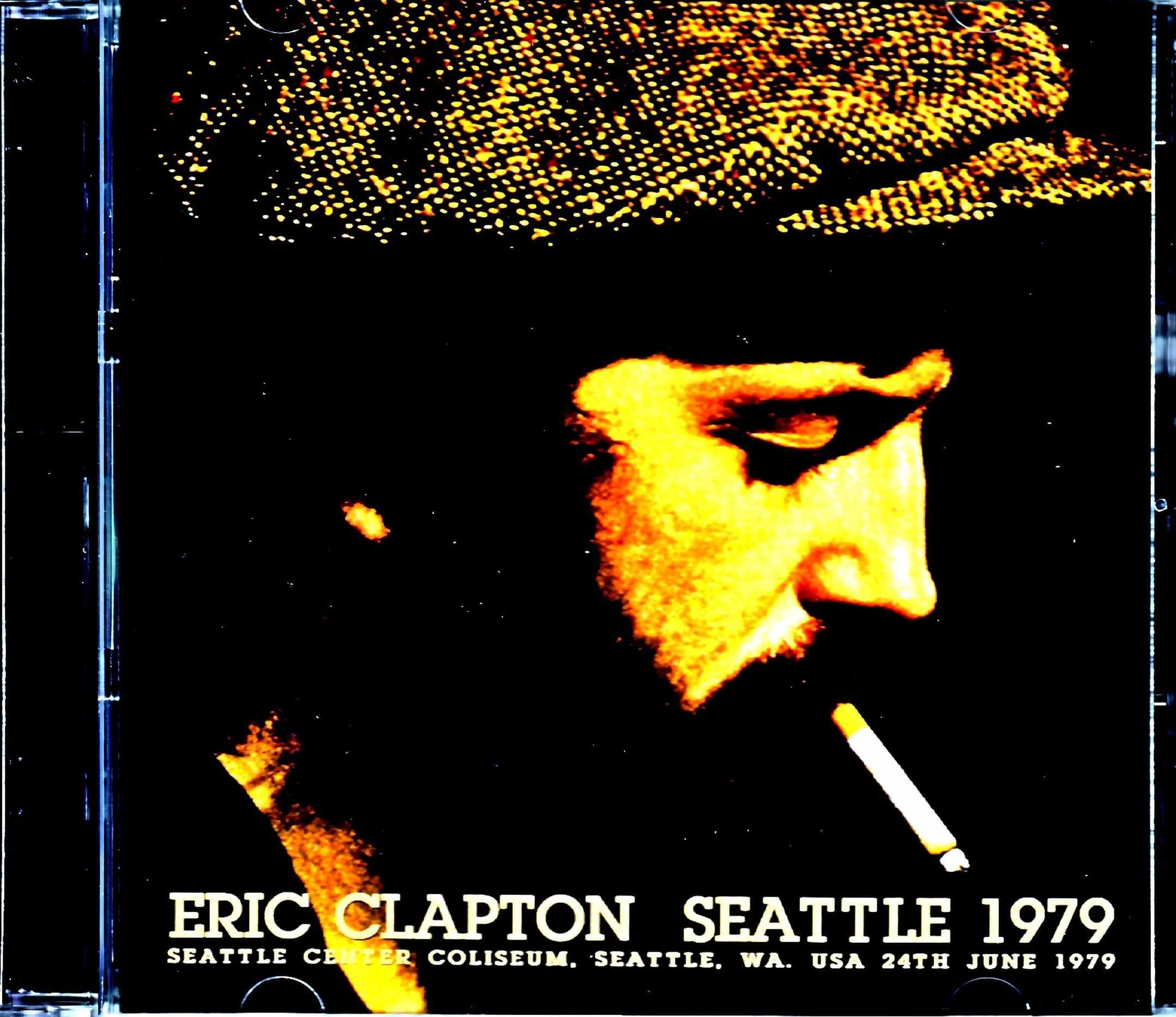 Eric Clapton エリック・クラプトン/WA,USA 1979 Complete