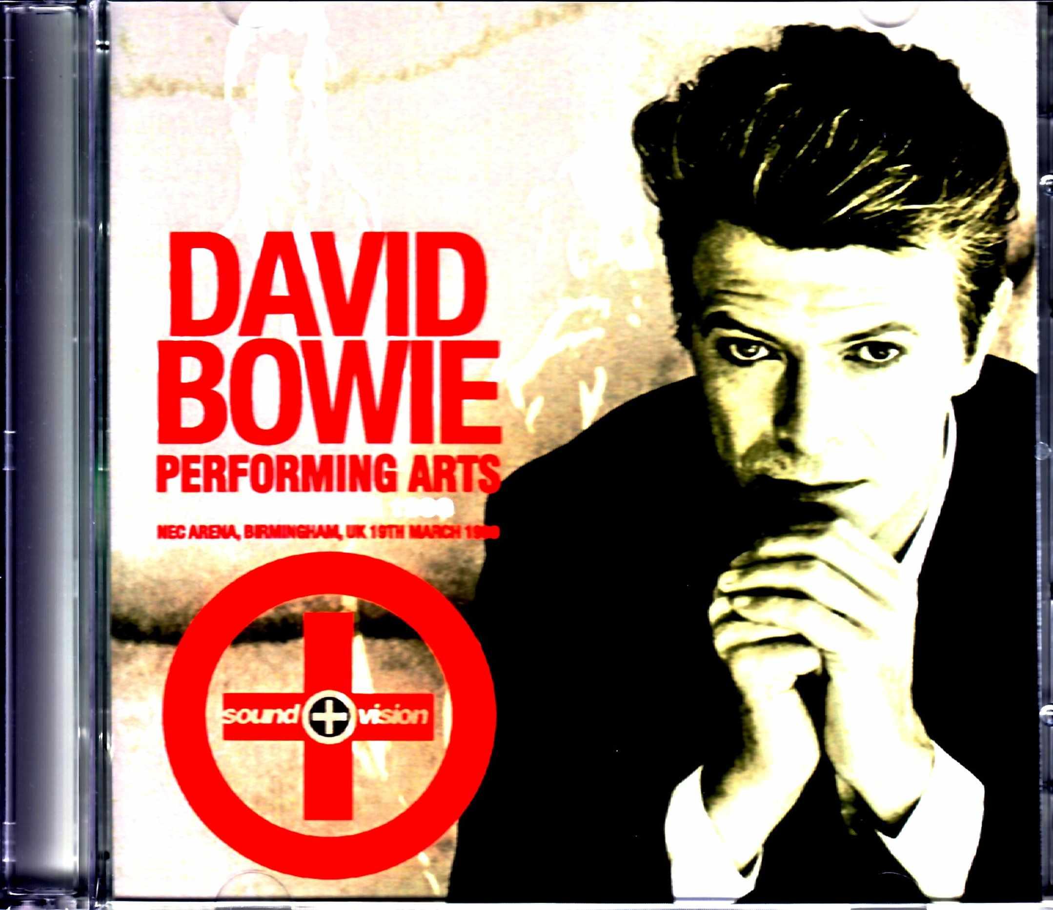 David Bowie デヴィッド・ボウイ/UK 3.19.1990