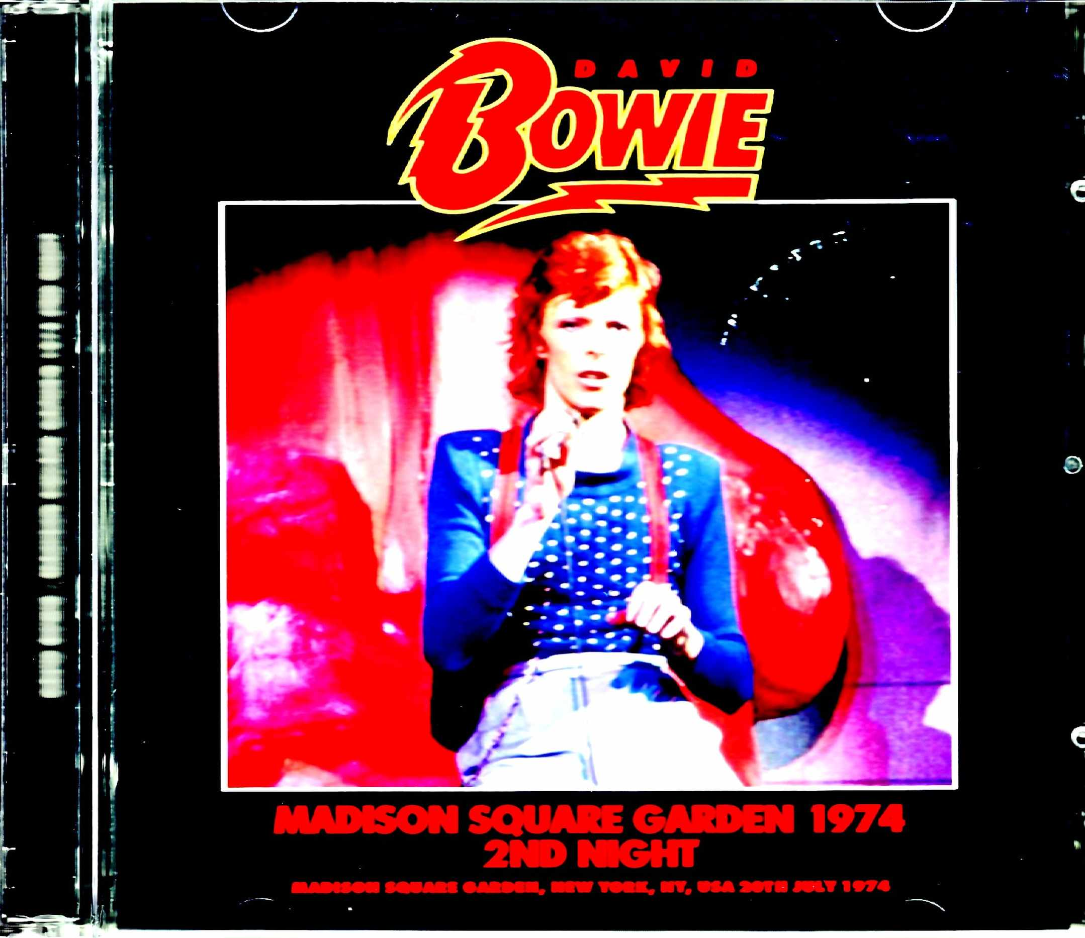 David Bowie デヴィッド・ボウイ/NY,USA 7.20.1974 New Source