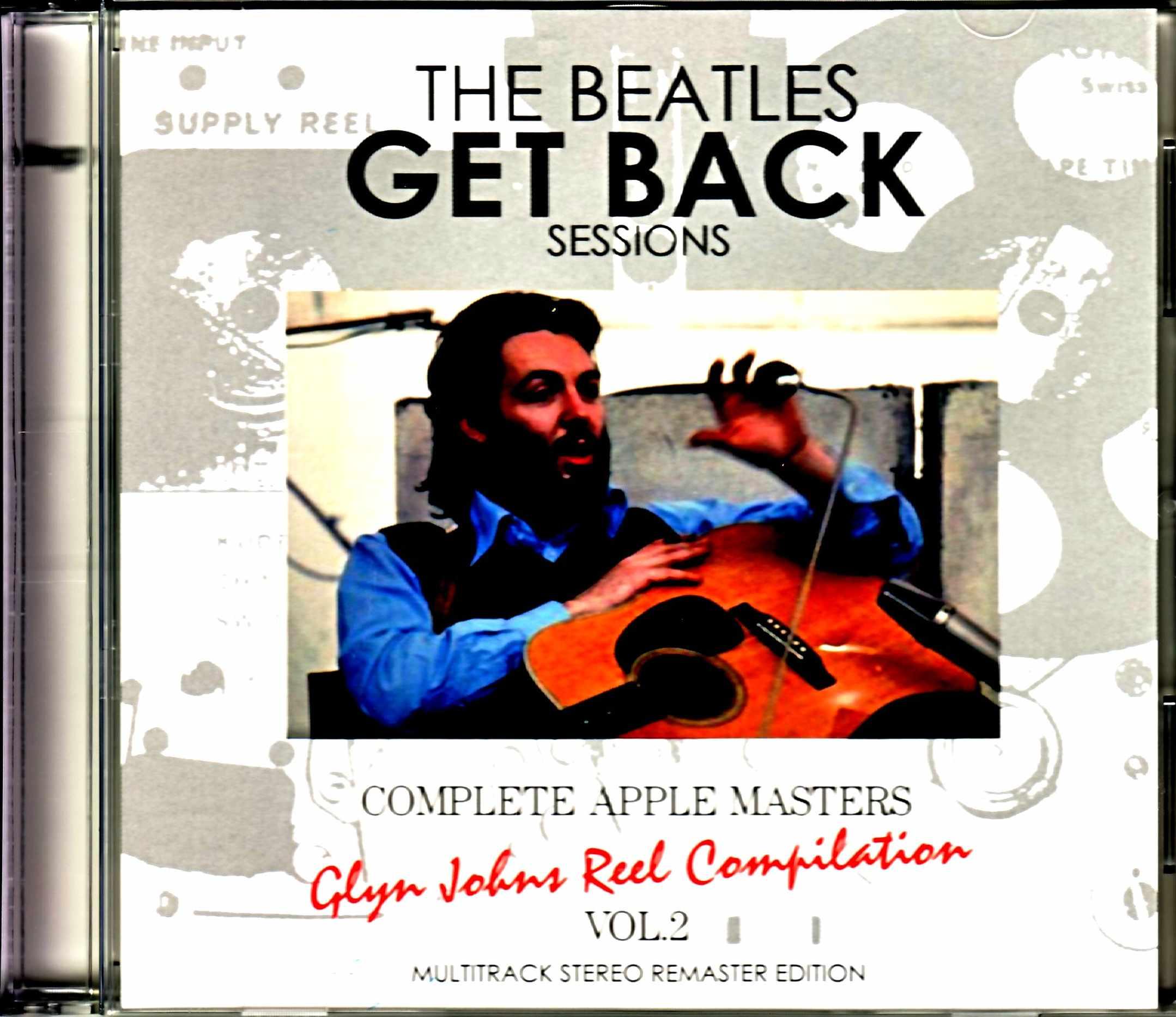 Beatles ビートルズ/ゲット・バック・セッション Glyn Johns Reel Compilation Vol.2