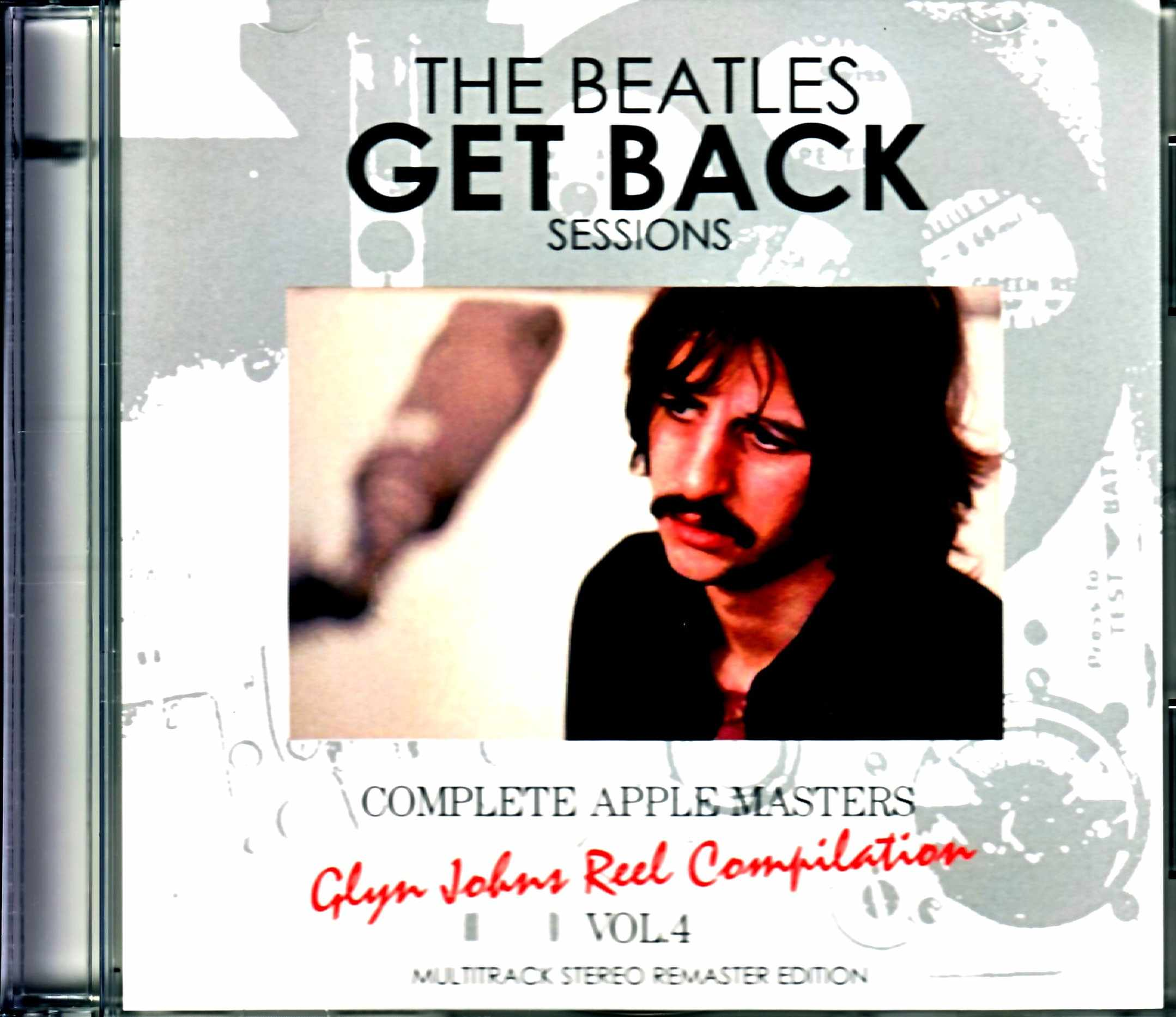 Beatles ビートルズ/ゲット・バック・セッション Glyn Johns Reel Compilation Vol.4