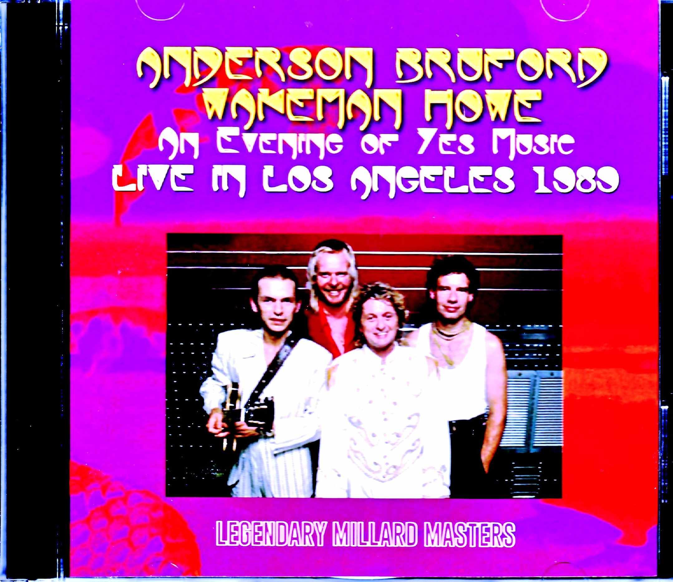 Anderson Bruford Wakeman Howe アンダーソン・ブラフォード ・ウェイクマン・ハウ/CA,USA 1989 Mike Millard Master Tapes