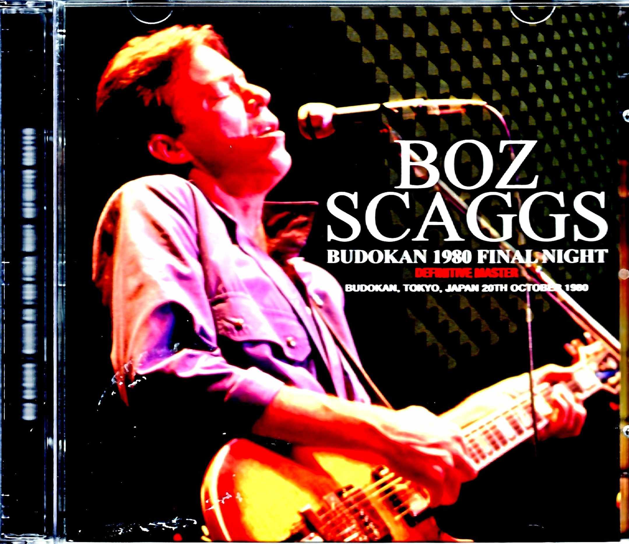 Boz Scaggs ボズ・スキャッグス/Tokyo,Japan 10.20.1980