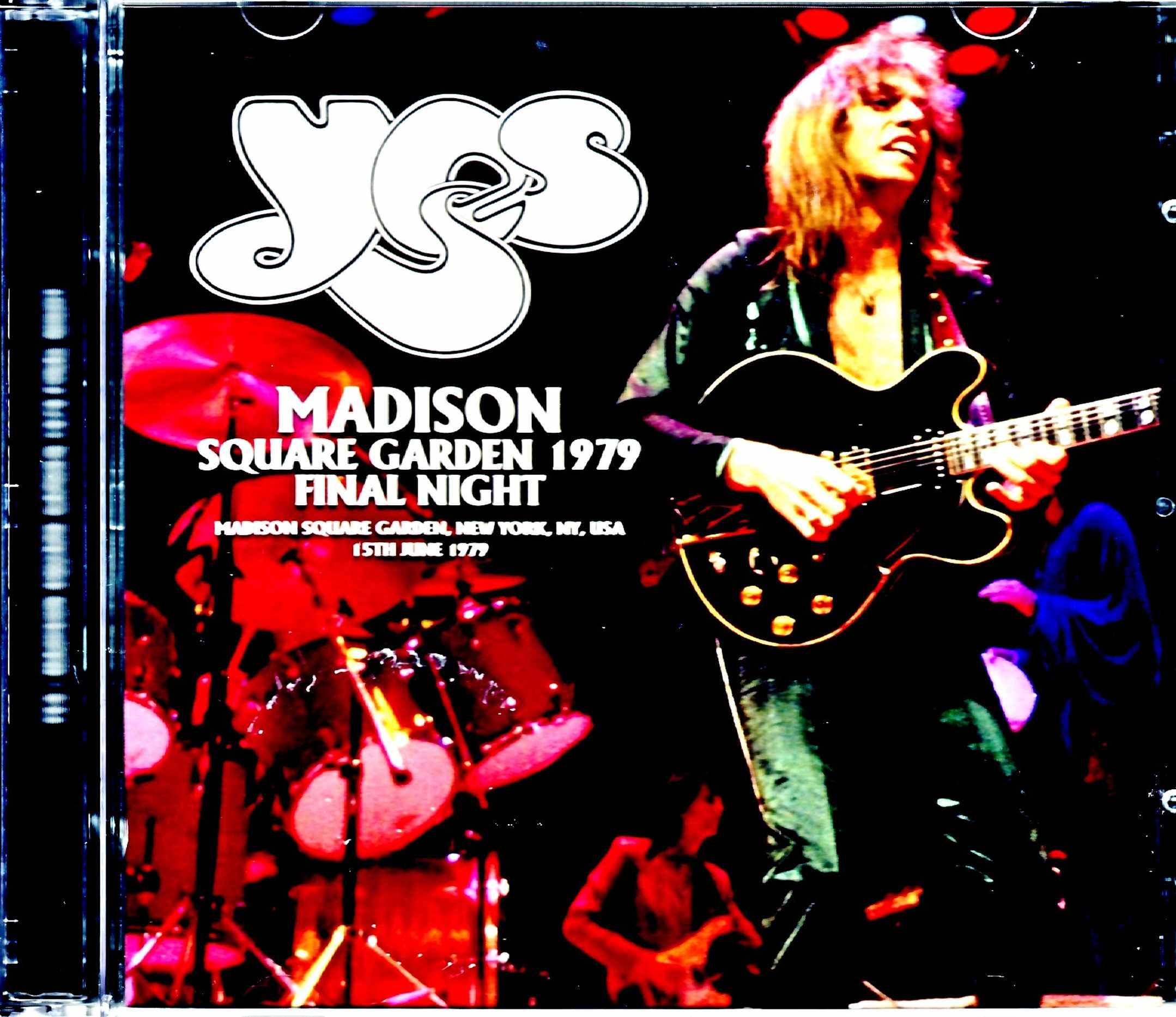 Yes イエス/NY,USA 6.15.1979 Upgrade