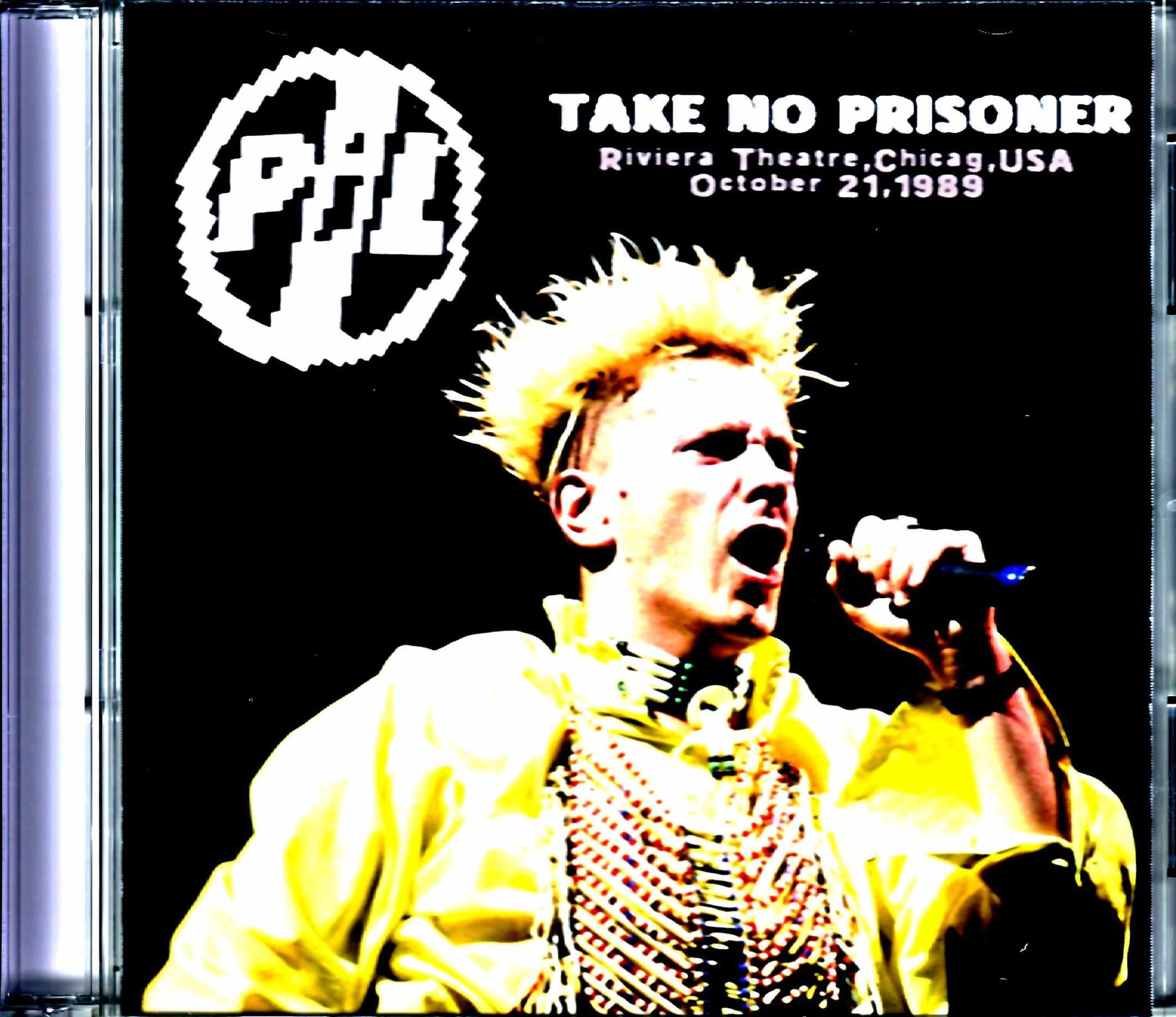 P.I.L Public Image Limited パブリック・イメージ・リミテッド/IL,USA 1989 Complete