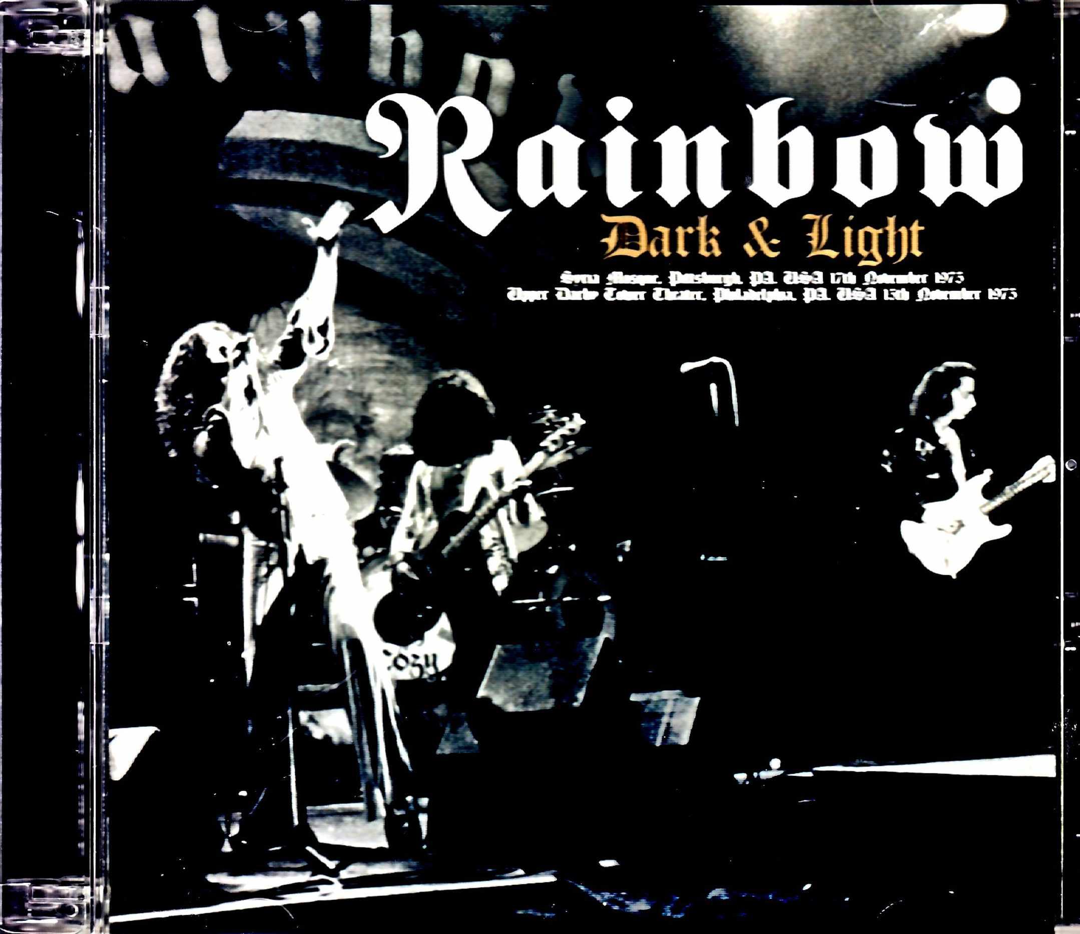 Rainbow レインボー/PA,USA 1975 2Days